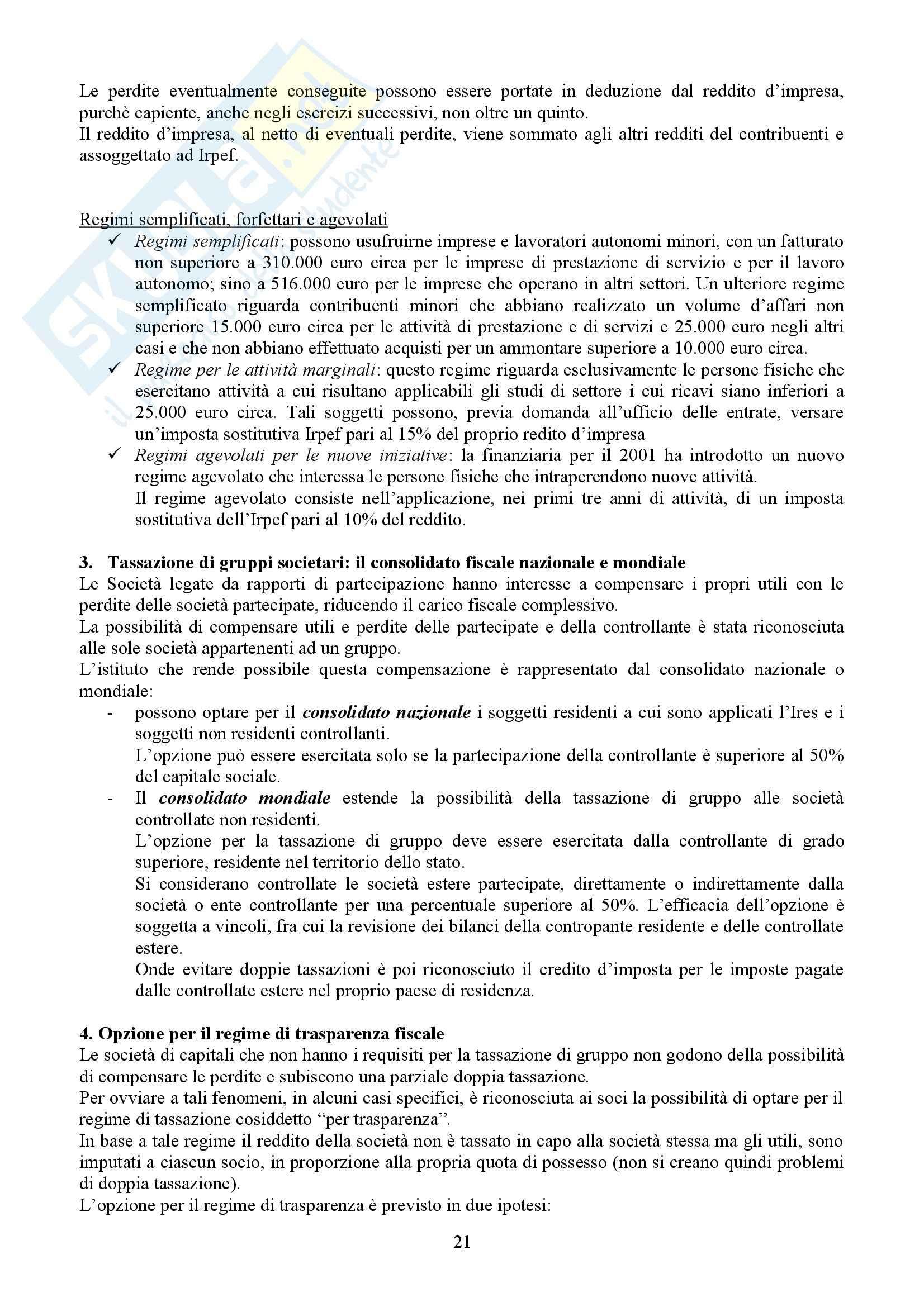 Tributi nell'economia italiana, Bosi, Guerra - Appunti Pag. 21