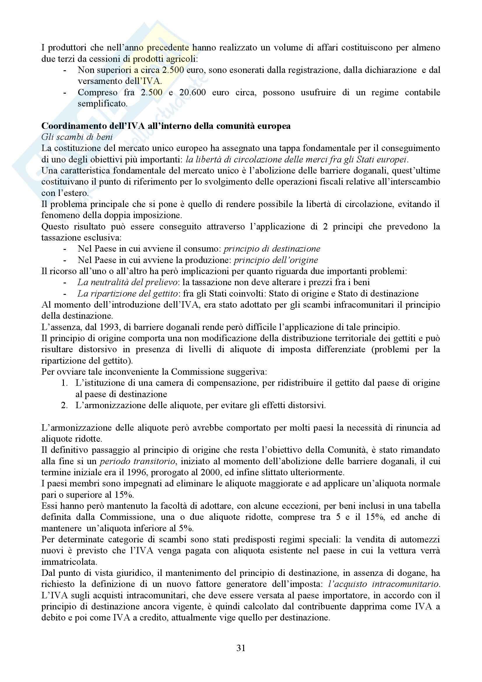 Tributi nell'economia italiana, Bosi, Guerra - Appunti Pag. 31