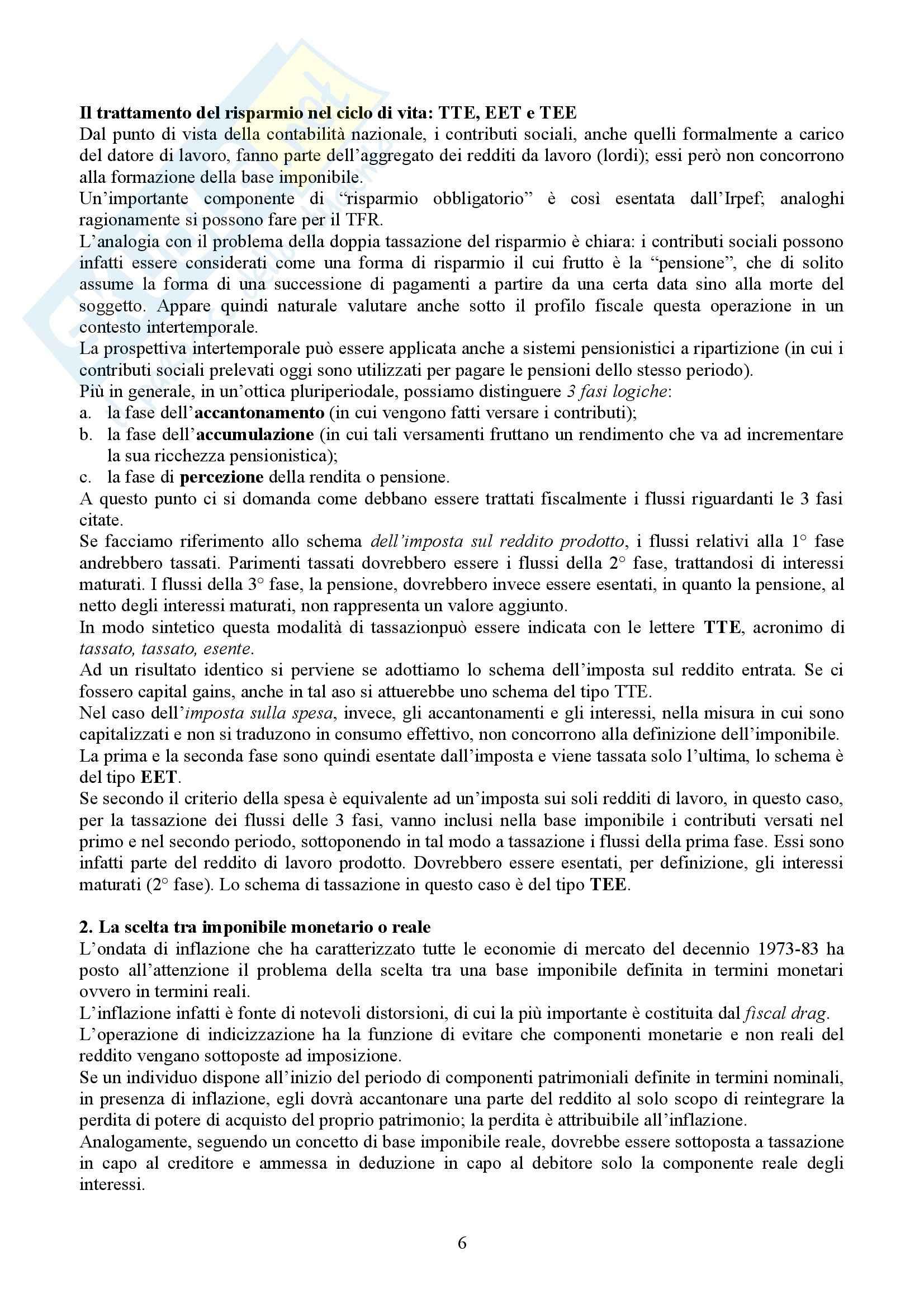 Tributi nell'economia italiana, Bosi, Guerra - Appunti Pag. 6