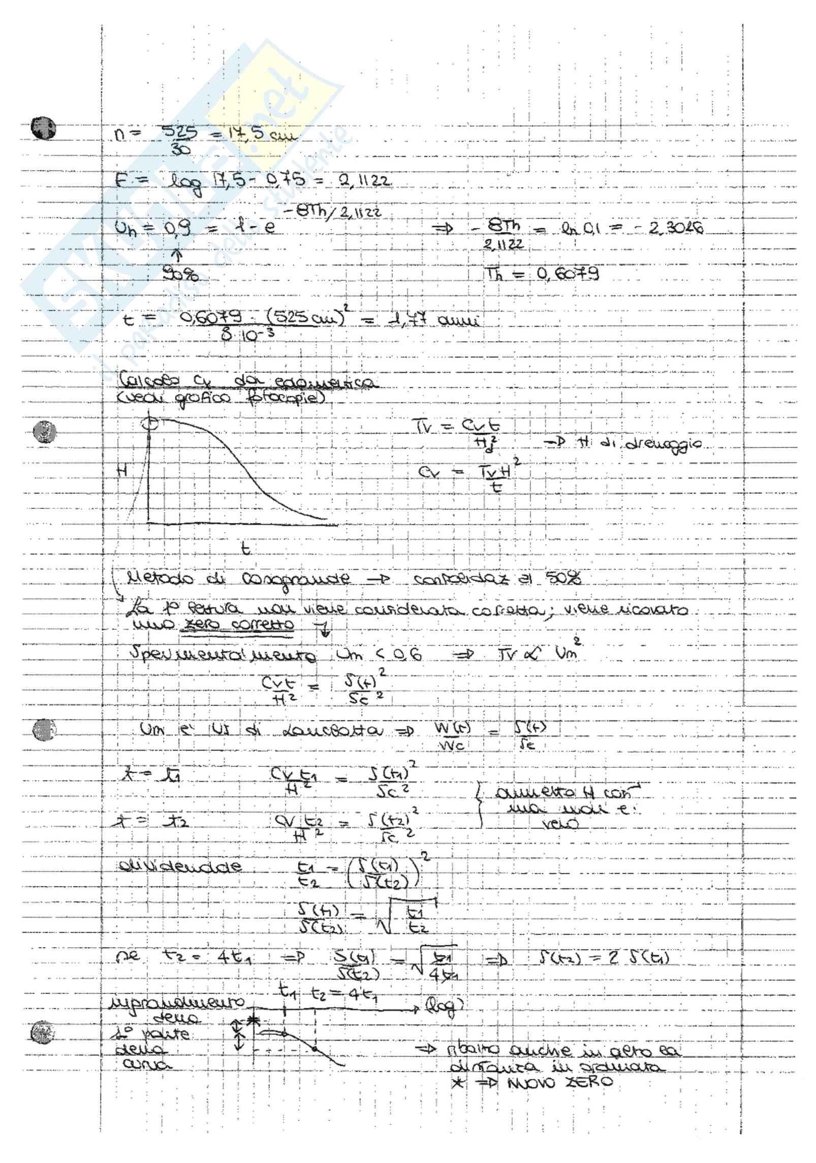 Esercitazioni svolte di Geotecnica Pag. 71