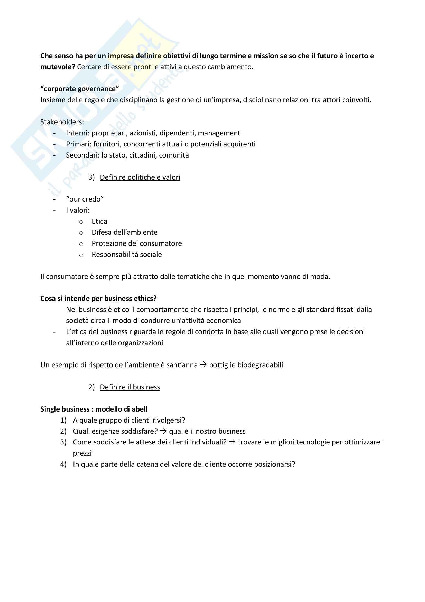 Lezioni, Direzione d'impresa Pag. 16