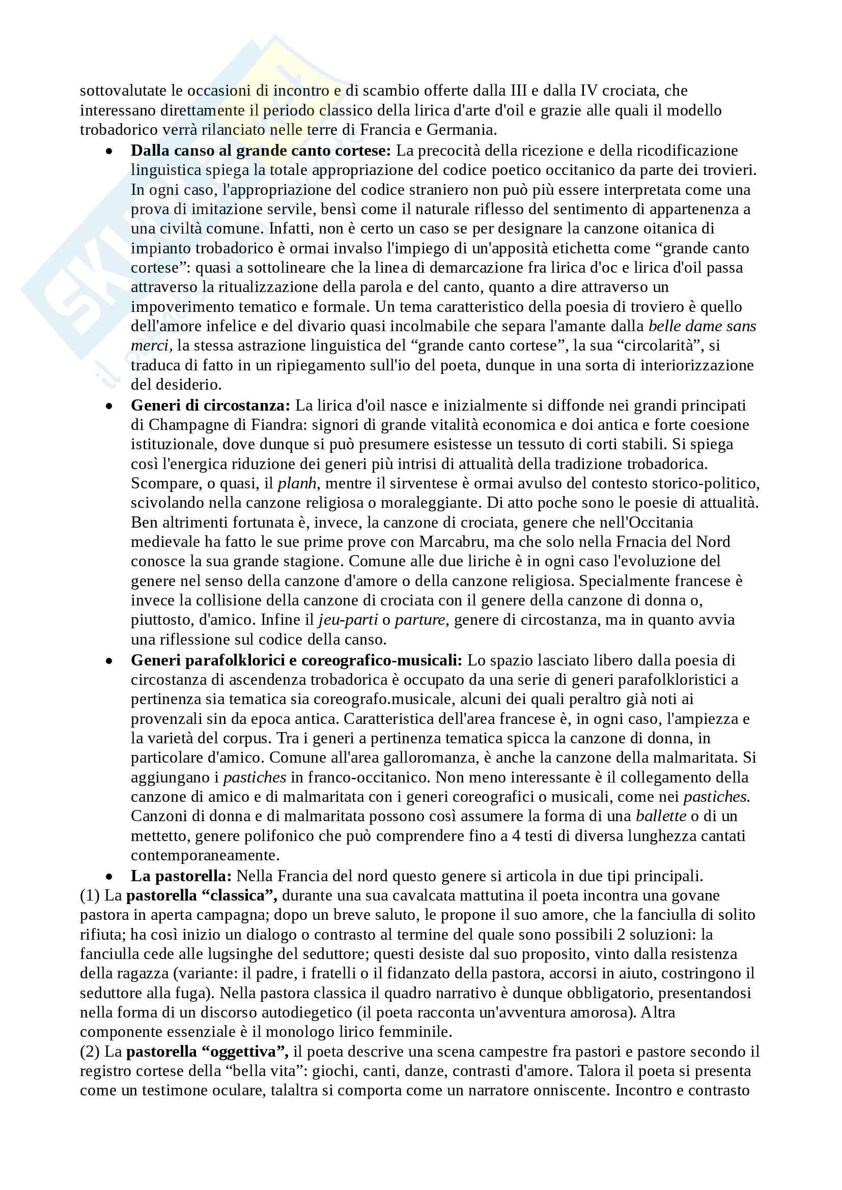 Riassunto esame Filologia Romanza, Cigni, libro consigliato Manuale di linguistica e filologia romanza, Renzi, Andreose Pag. 16