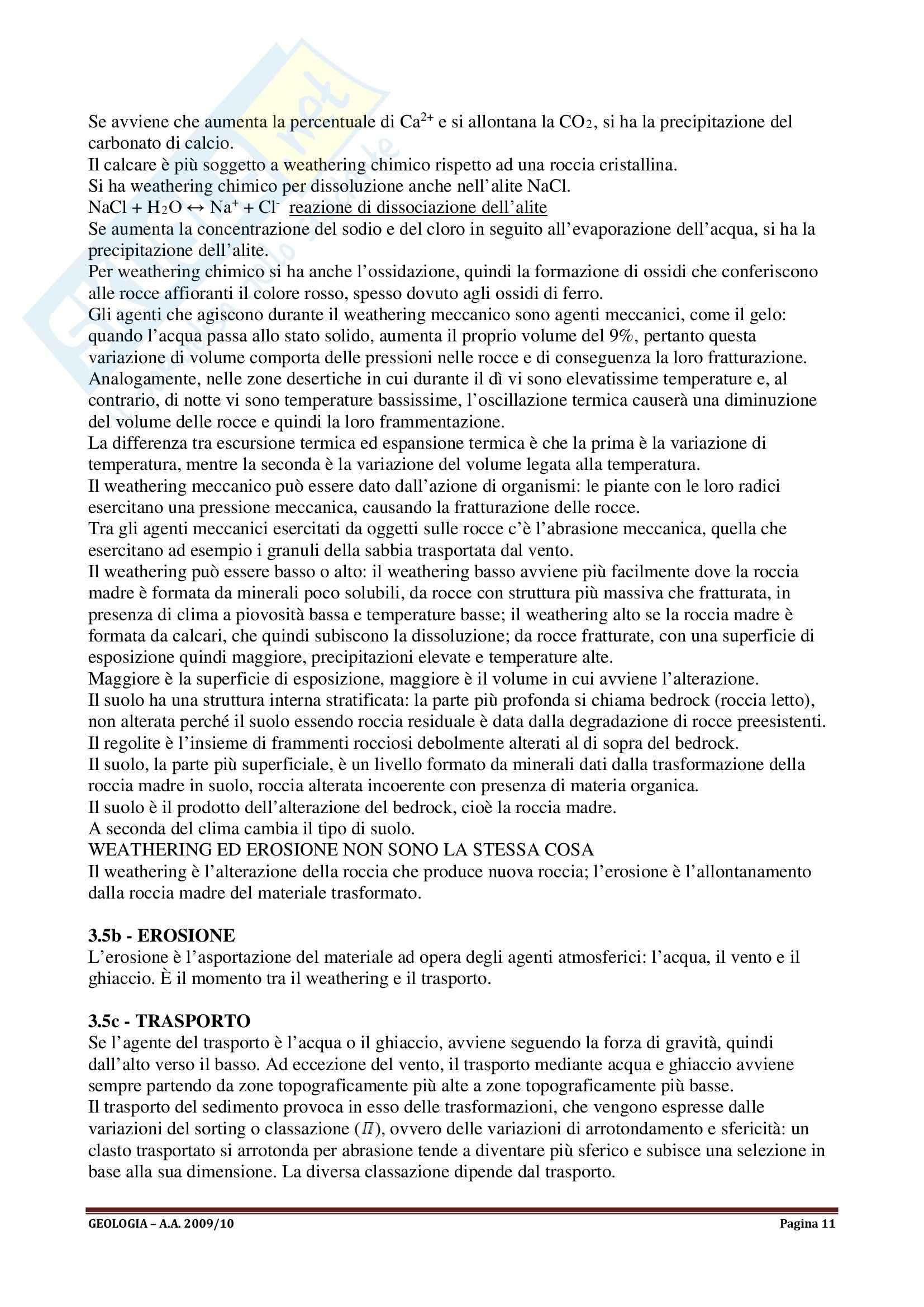 Geologia I - Appunti Pag. 11