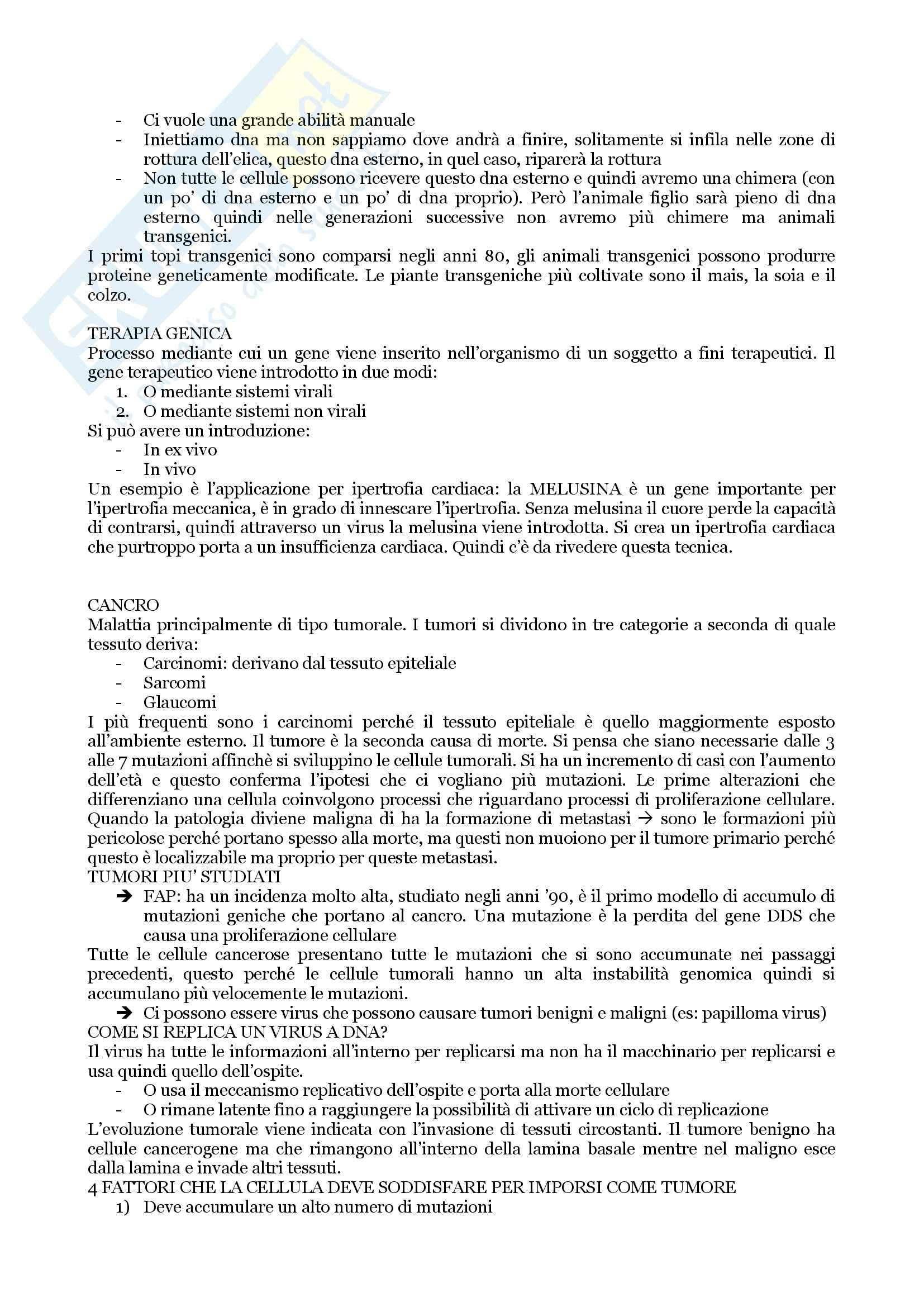 Biologia Applicata - Appunti, Slides e Schemi libro Pag. 81