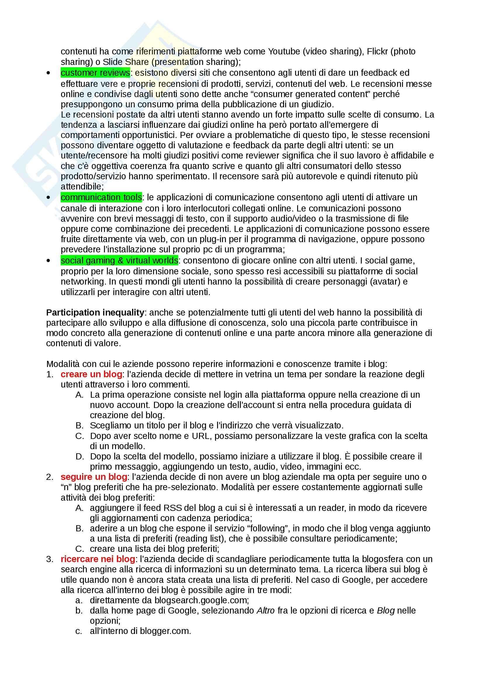 Riassunto esame Informatica per l'economia, prof. Boschetti, libro consigliato Manuale di informatica per l'economia, Clerici Pag. 21