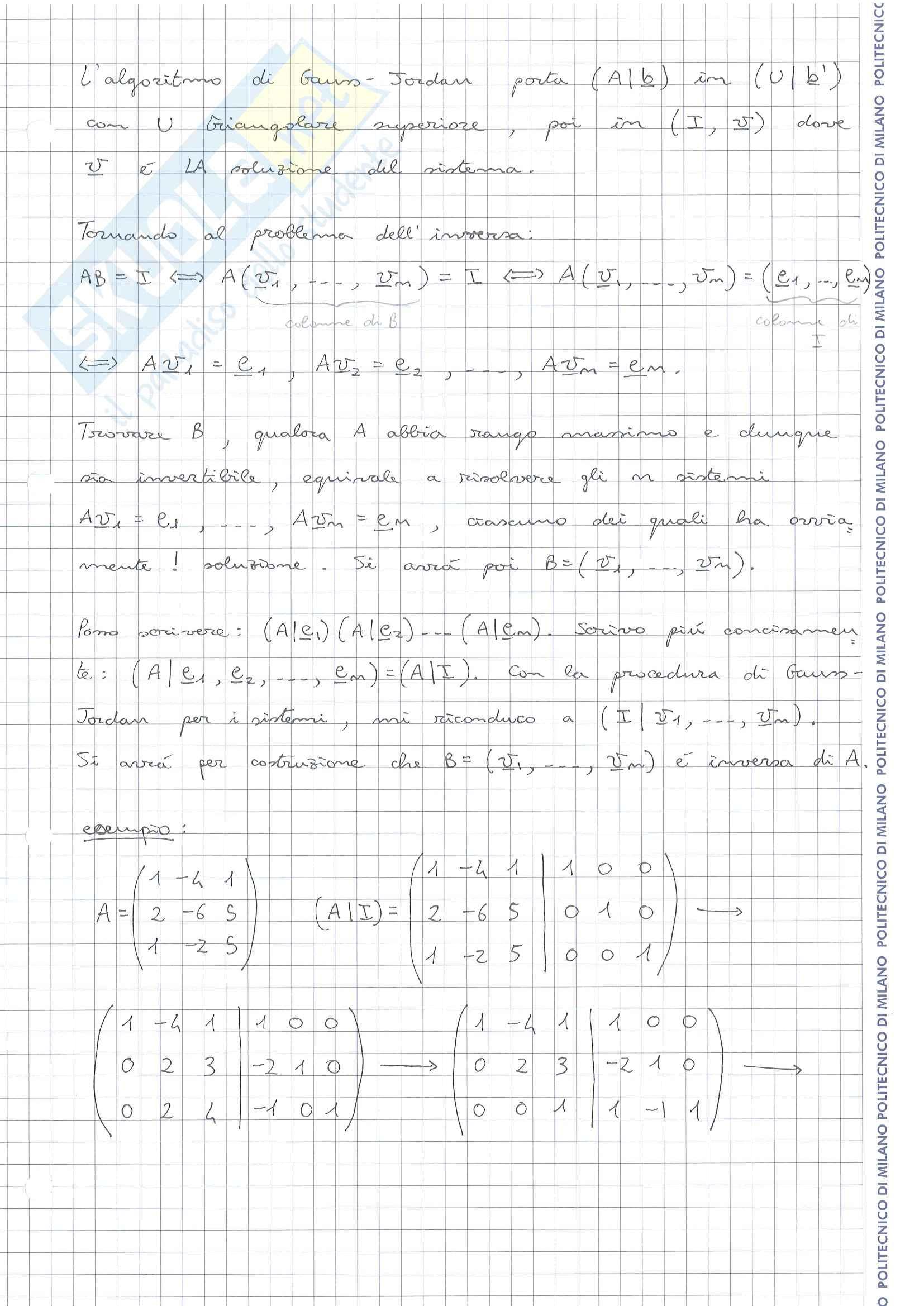 Algebra Lineare Pag. 21