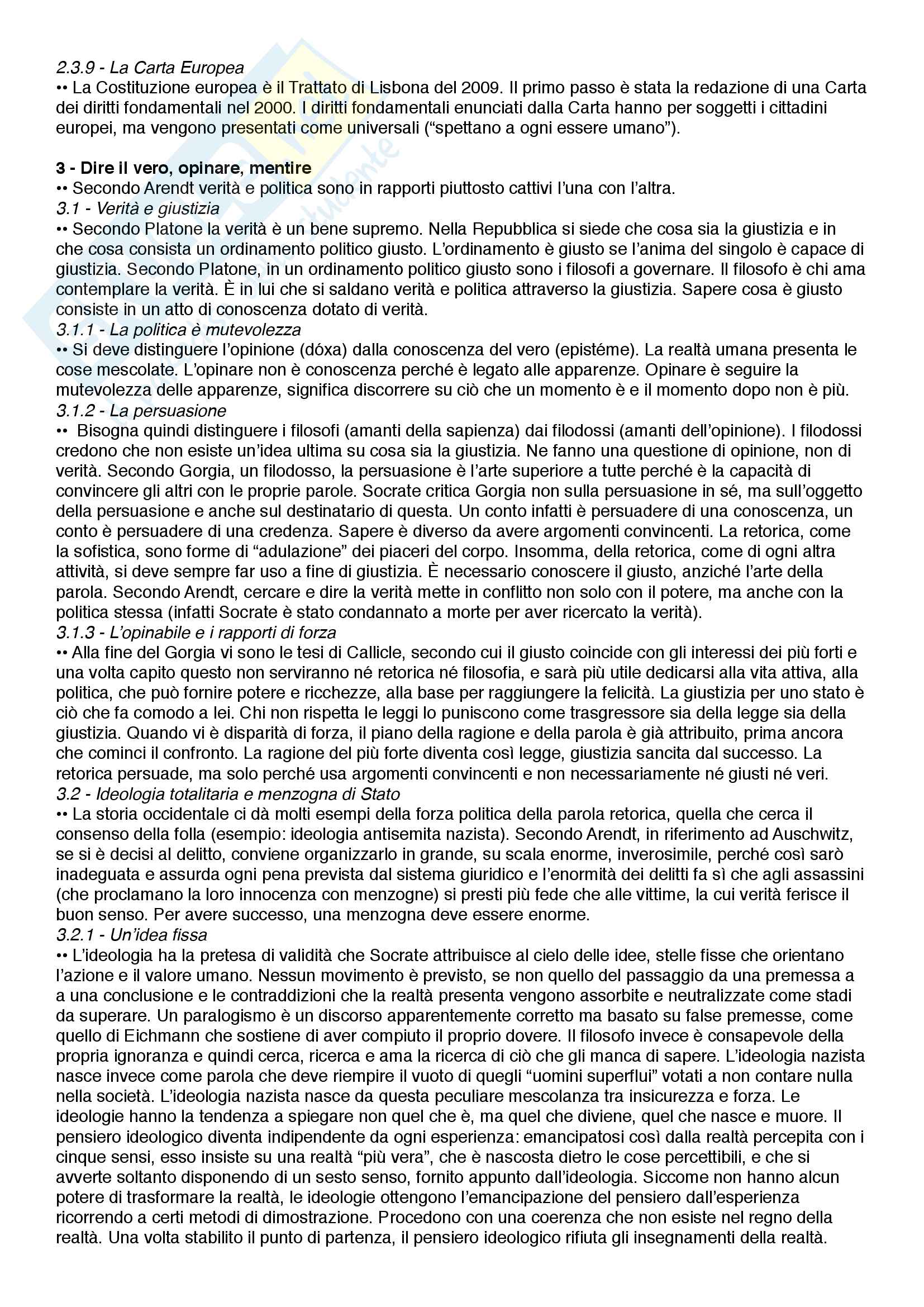 Riassunto esame Filosofia, società e comunicazione, prof. Marramao e Giardini, libro consigliato L'alleanza inquieta, Giardini Pag. 6