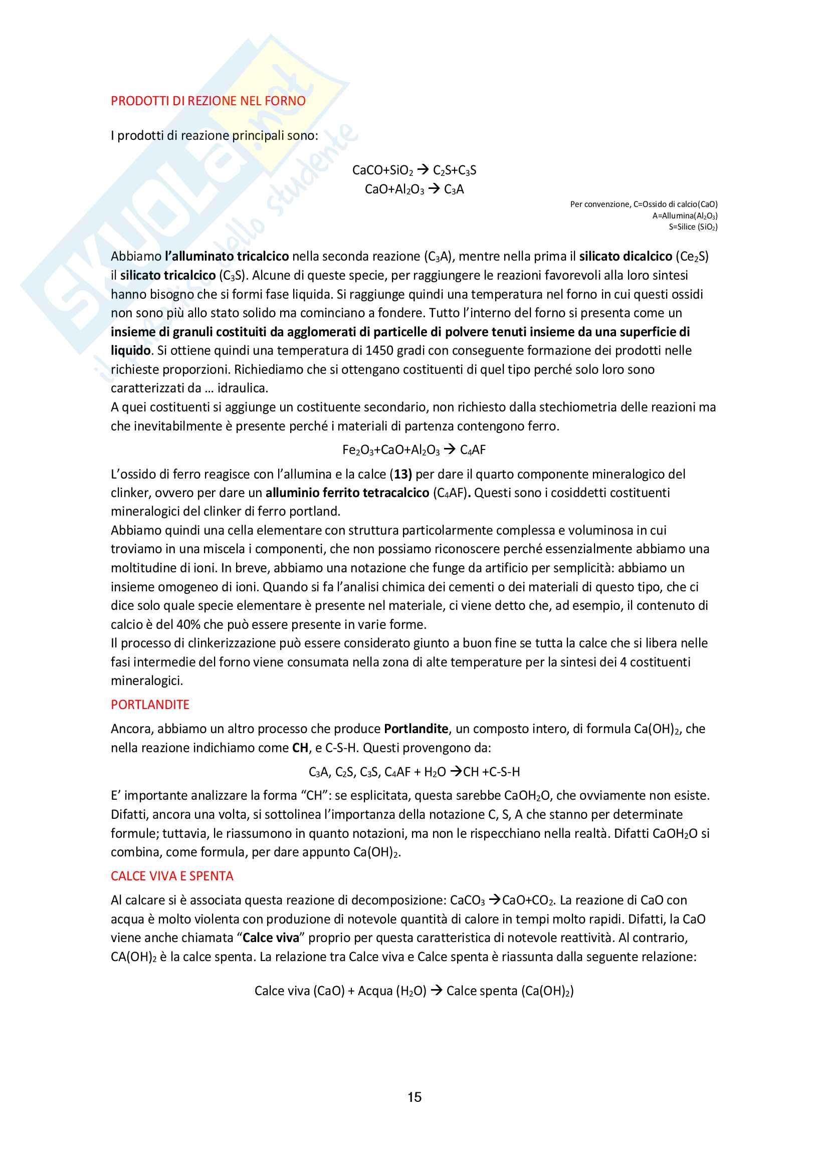 Tutte le lezioni trascritte - Tecnologia dei Materiali - TEORIA ed ESERCIZI Pag. 16