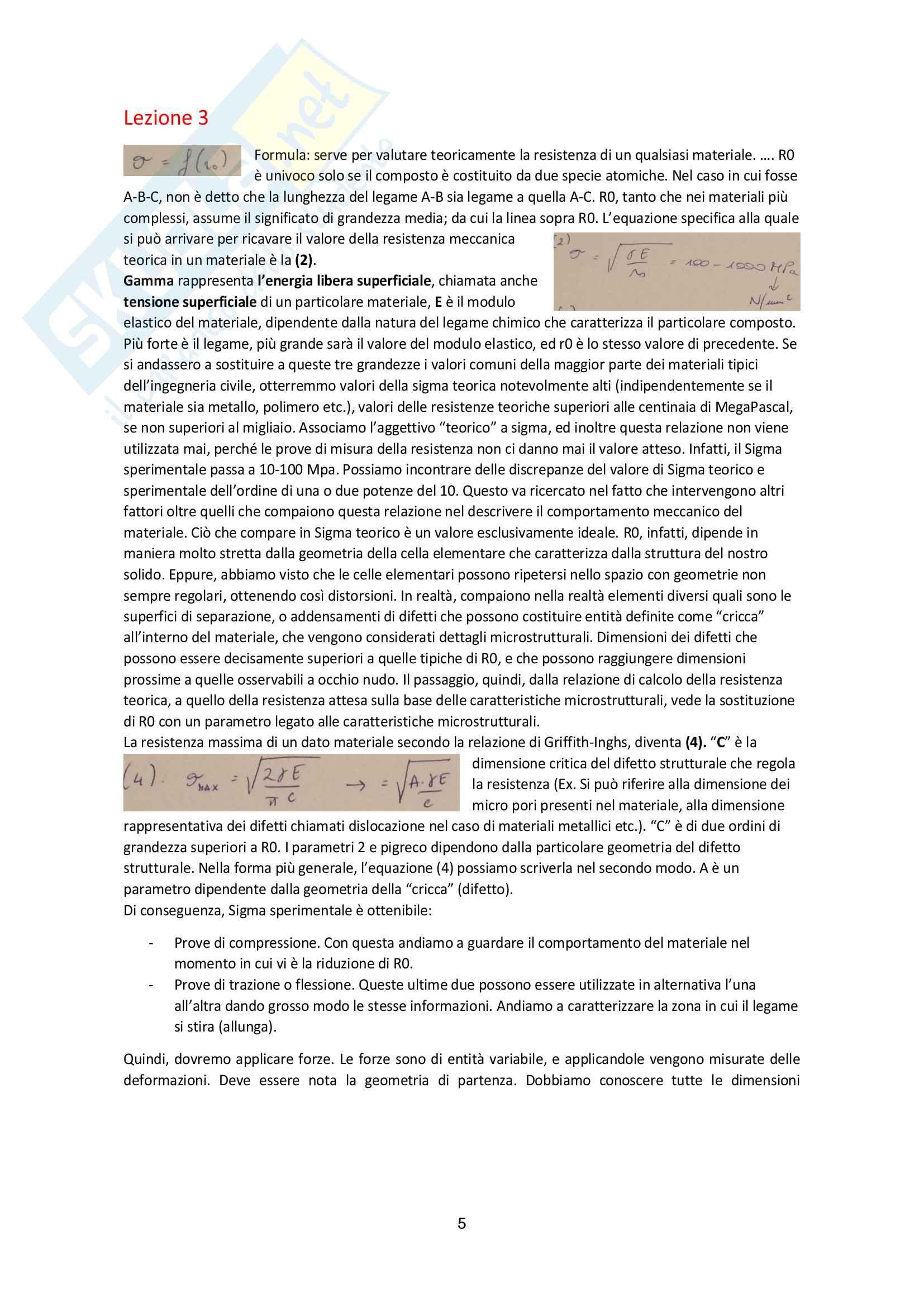 Tutte le lezioni trascritte - Tecnologia dei Materiali - TEORIA ed ESERCIZI Pag. 6