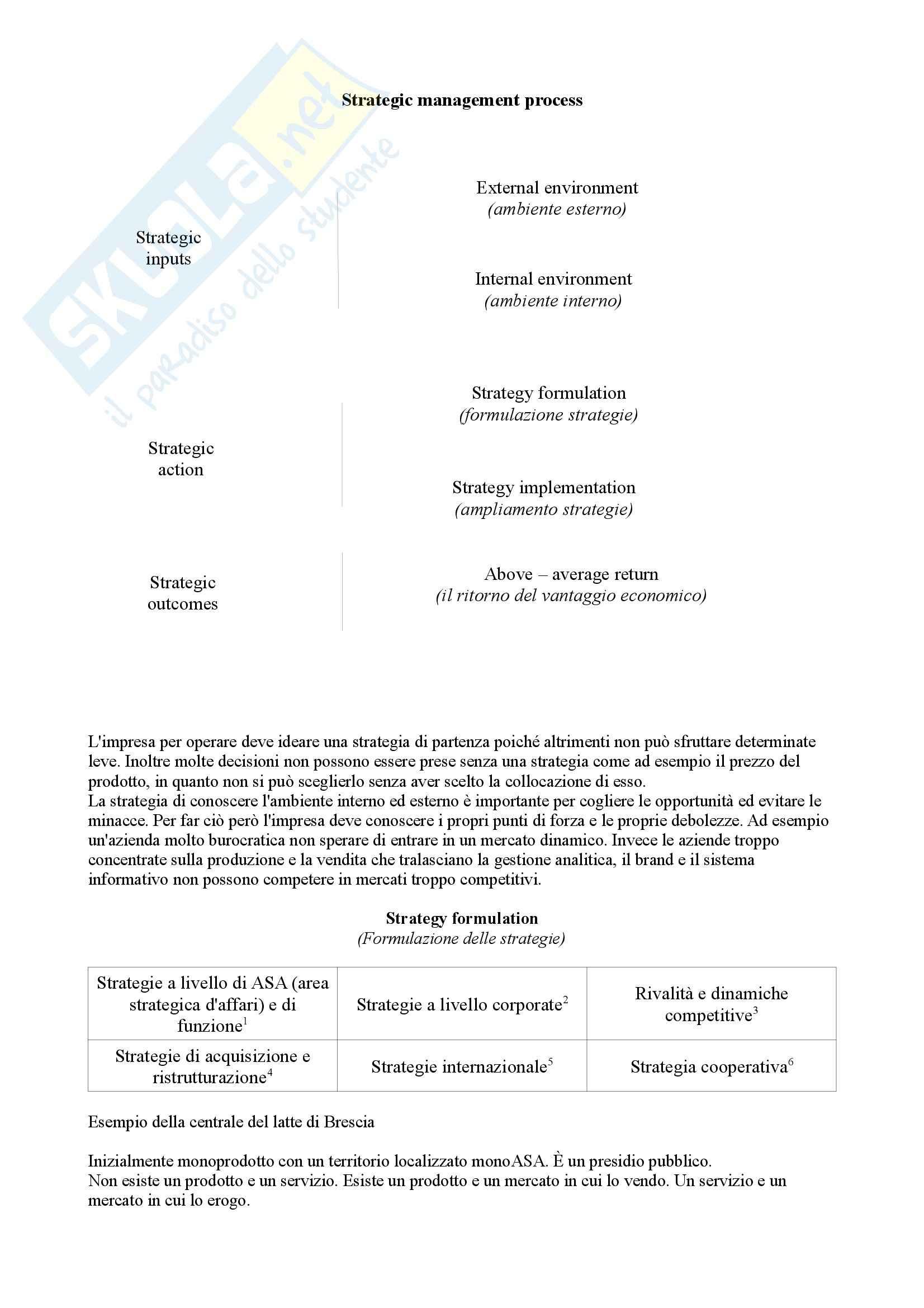 Market - Driven Management II - Appunti prova parziale