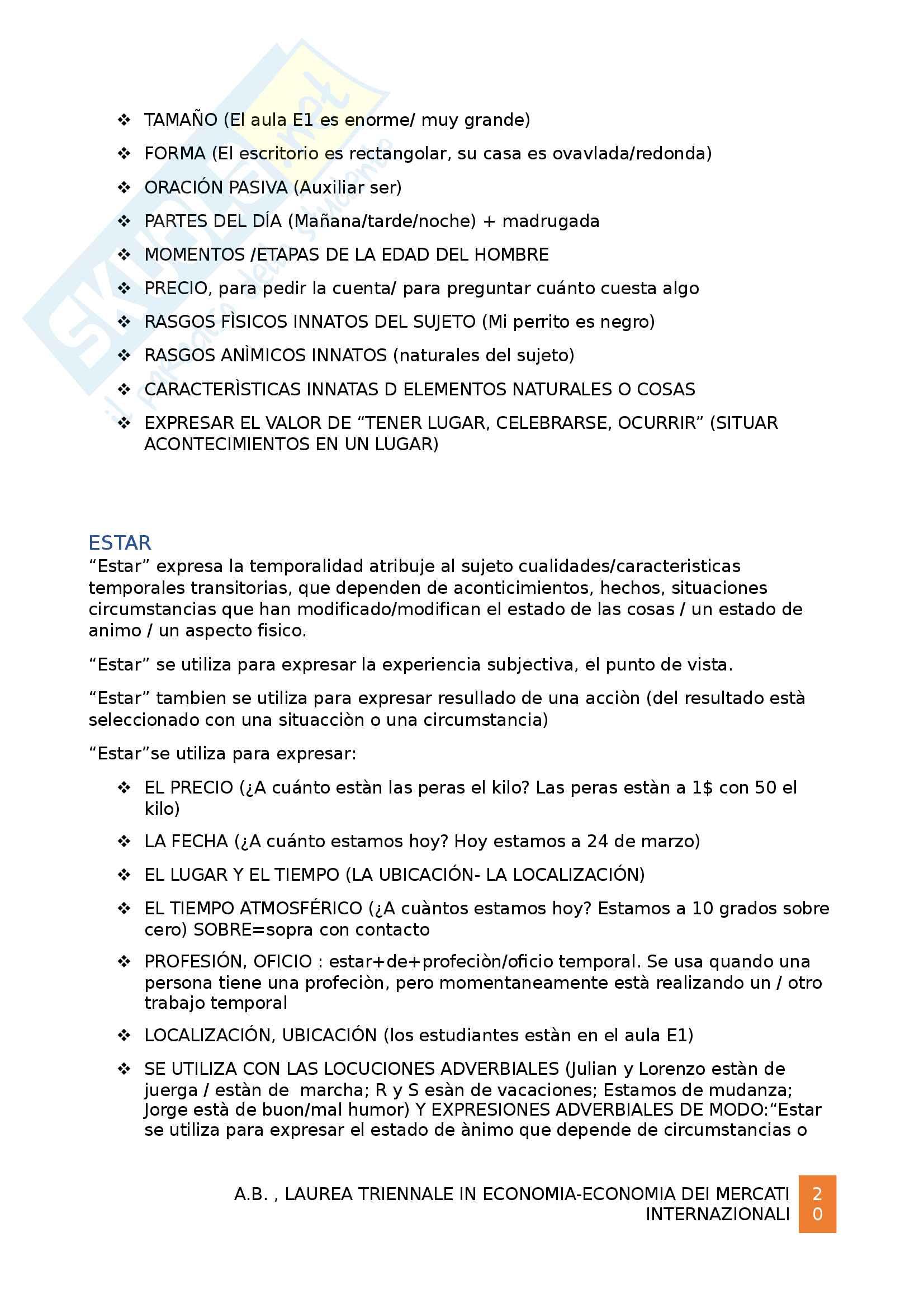 Grammatica spagnola B1 Pag. 21