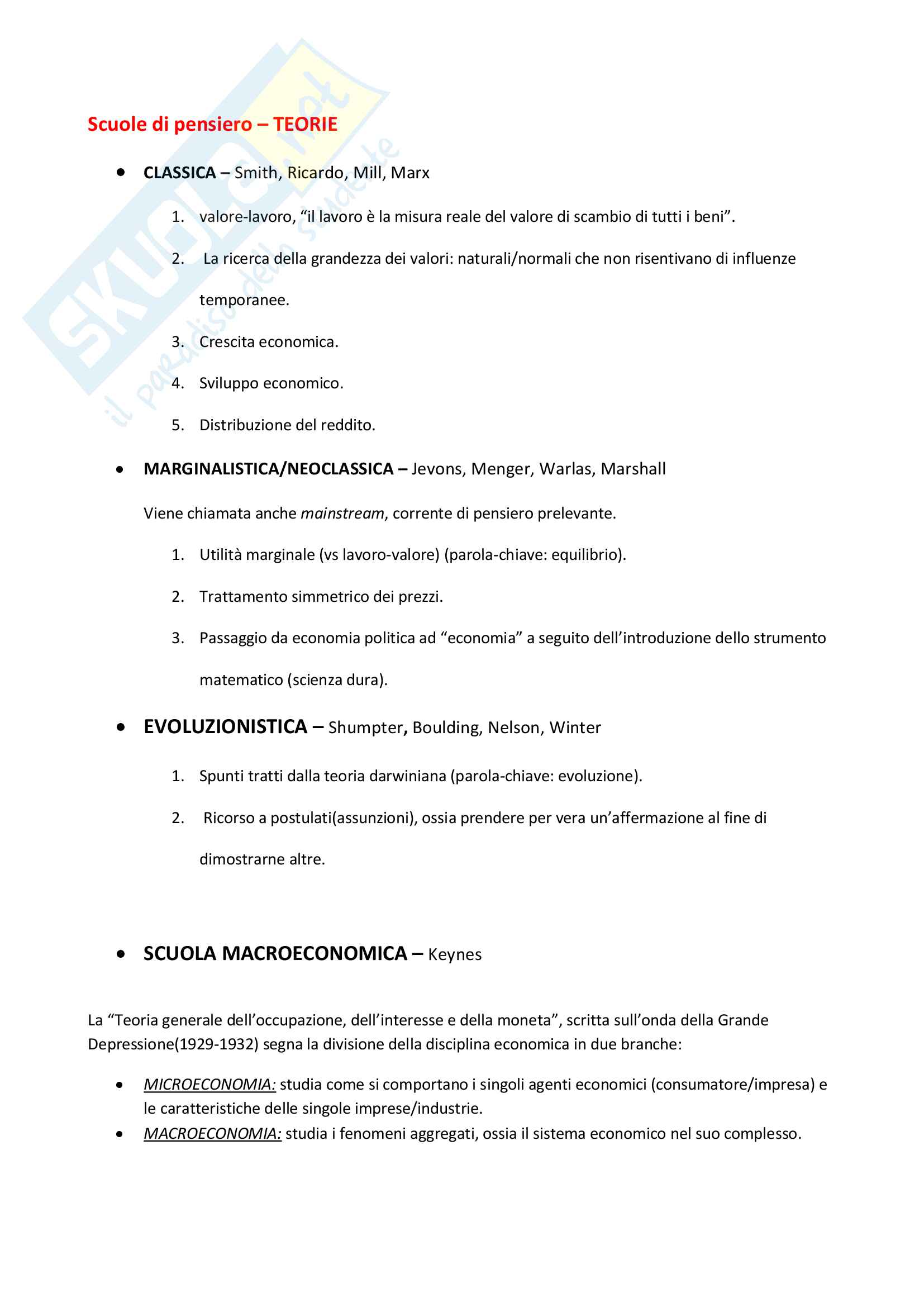 Economia Politica (Giurisprudenza) Pag. 2