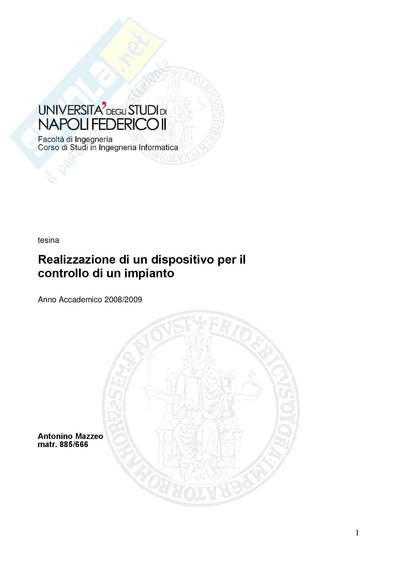 appunto G. Iannello Calcolatori Elettronici II