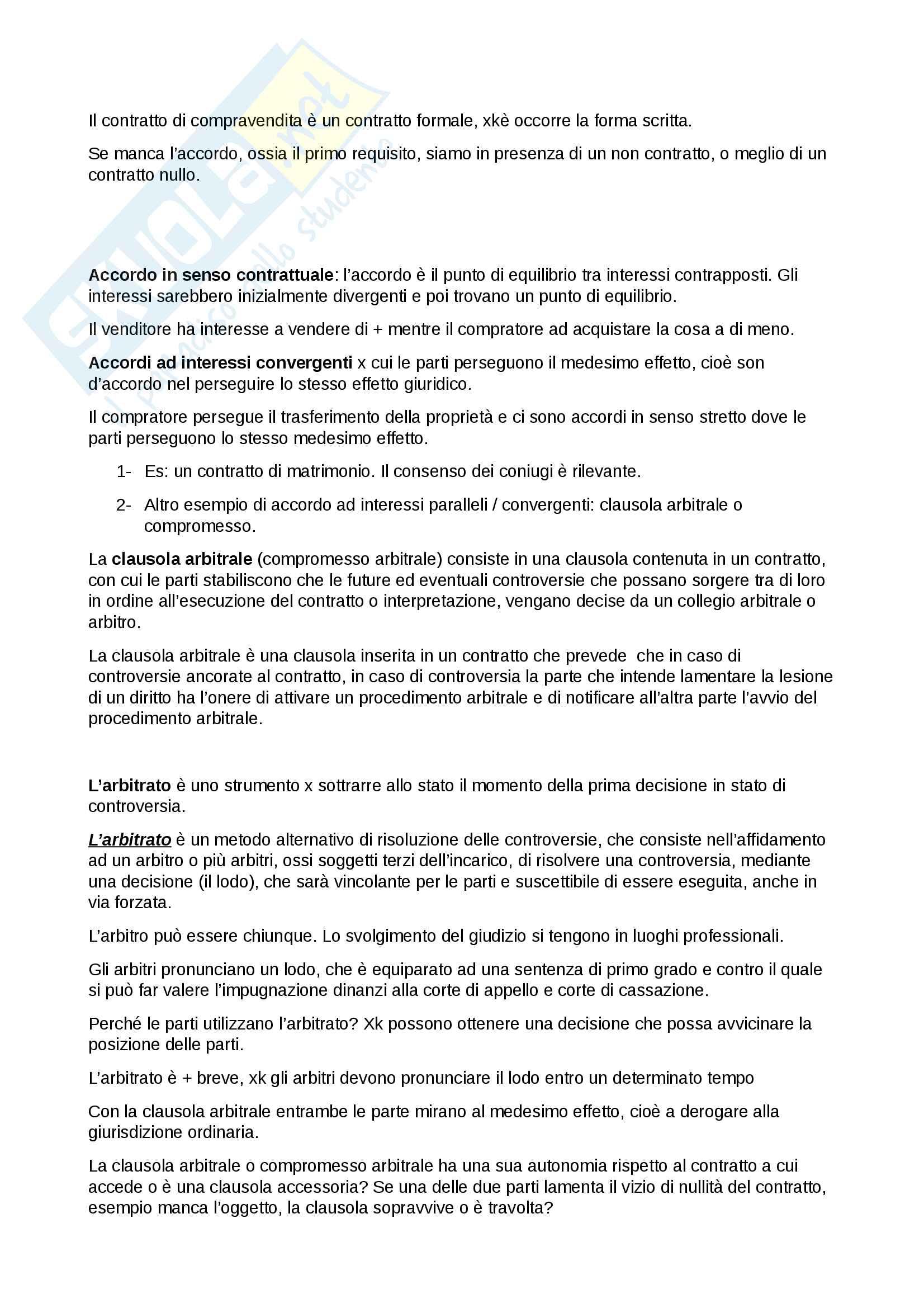diritto dei contratti Pag. 2