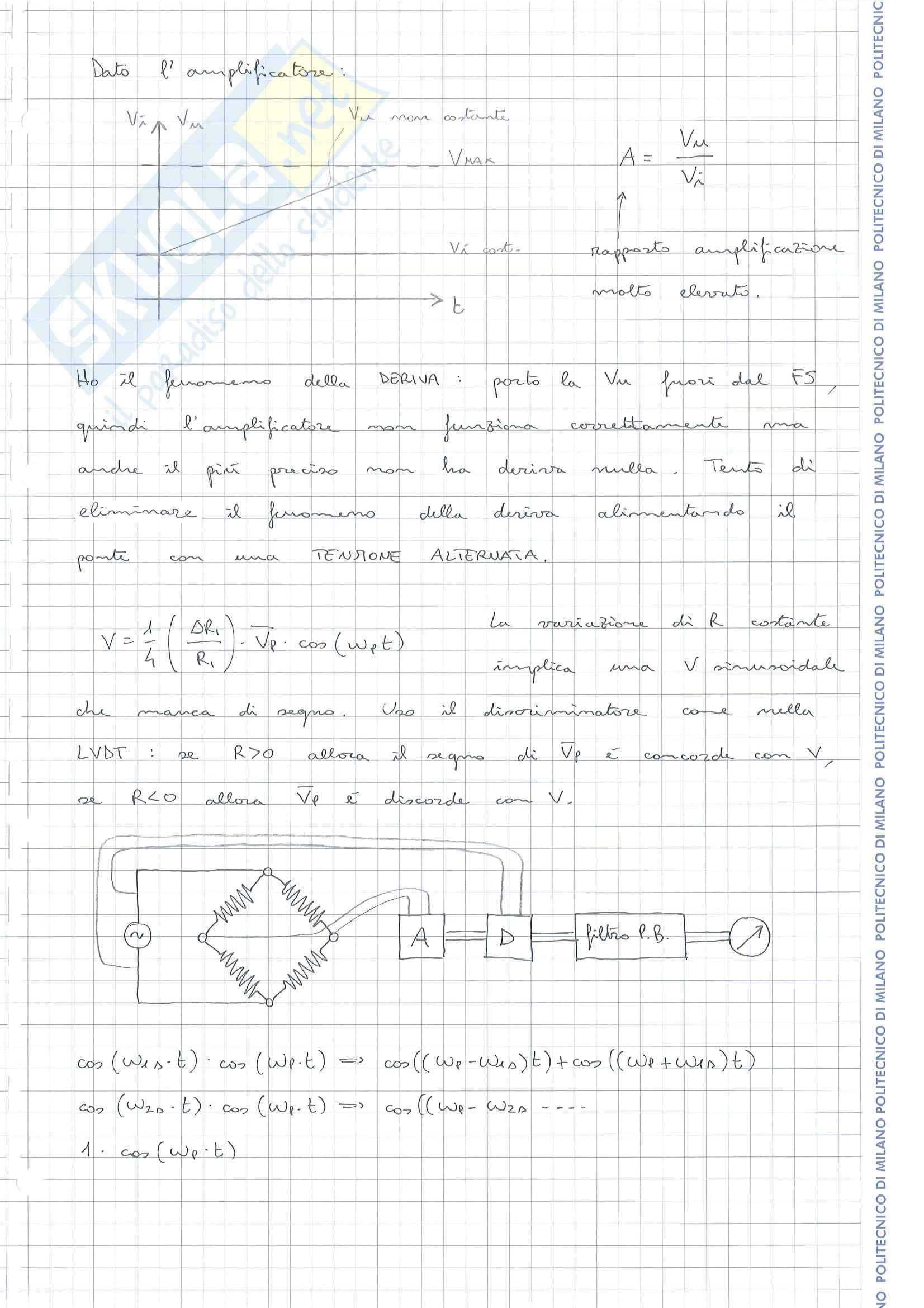 Misure Meccaniche e Termiche I Pag. 31
