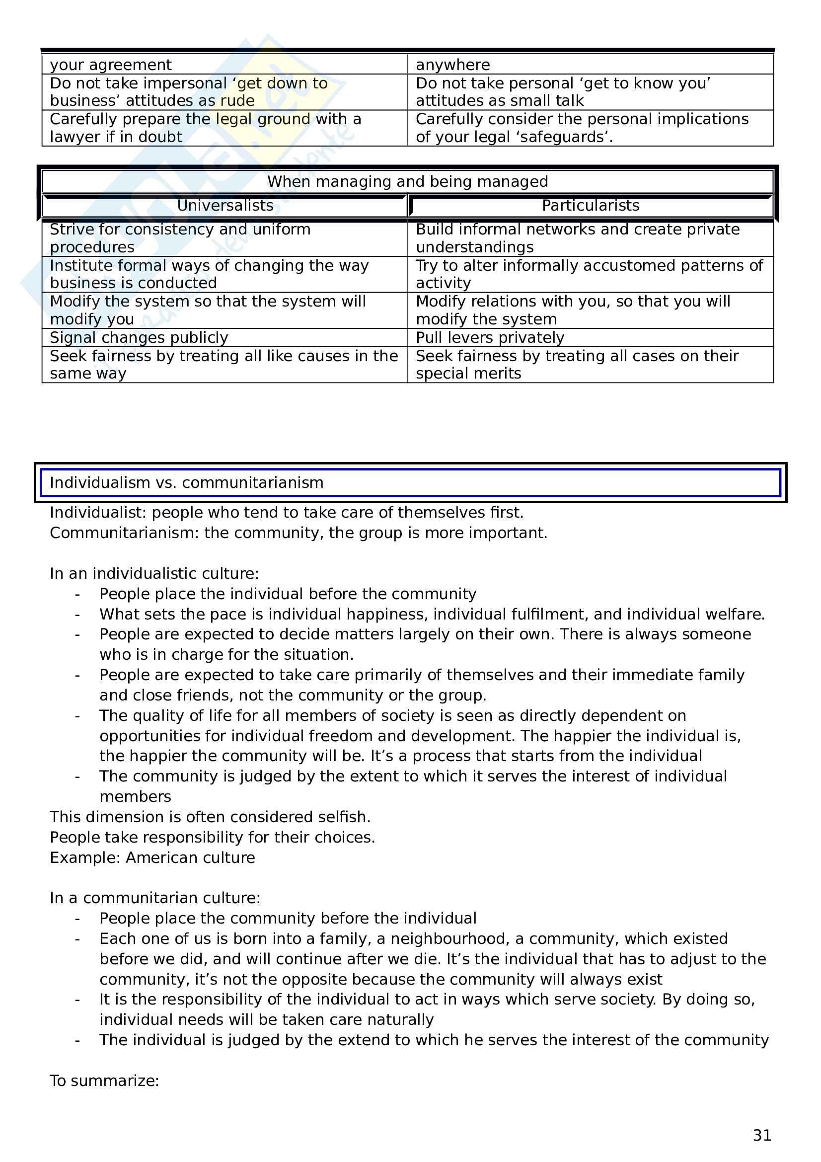 Appunti di Inglese monografico 3 (Prof. Rossi) Pag. 31