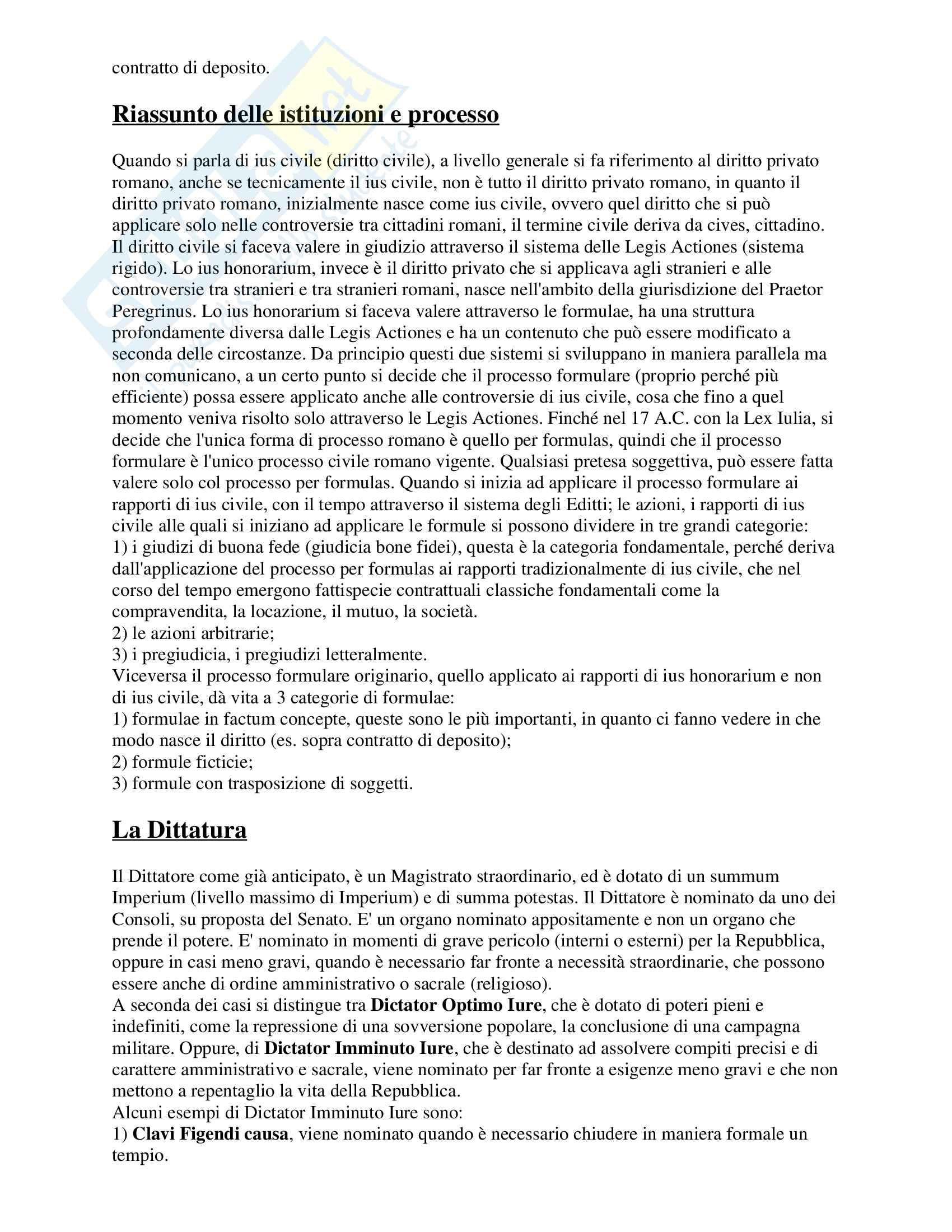 Storia della costituzione romana Pag. 41
