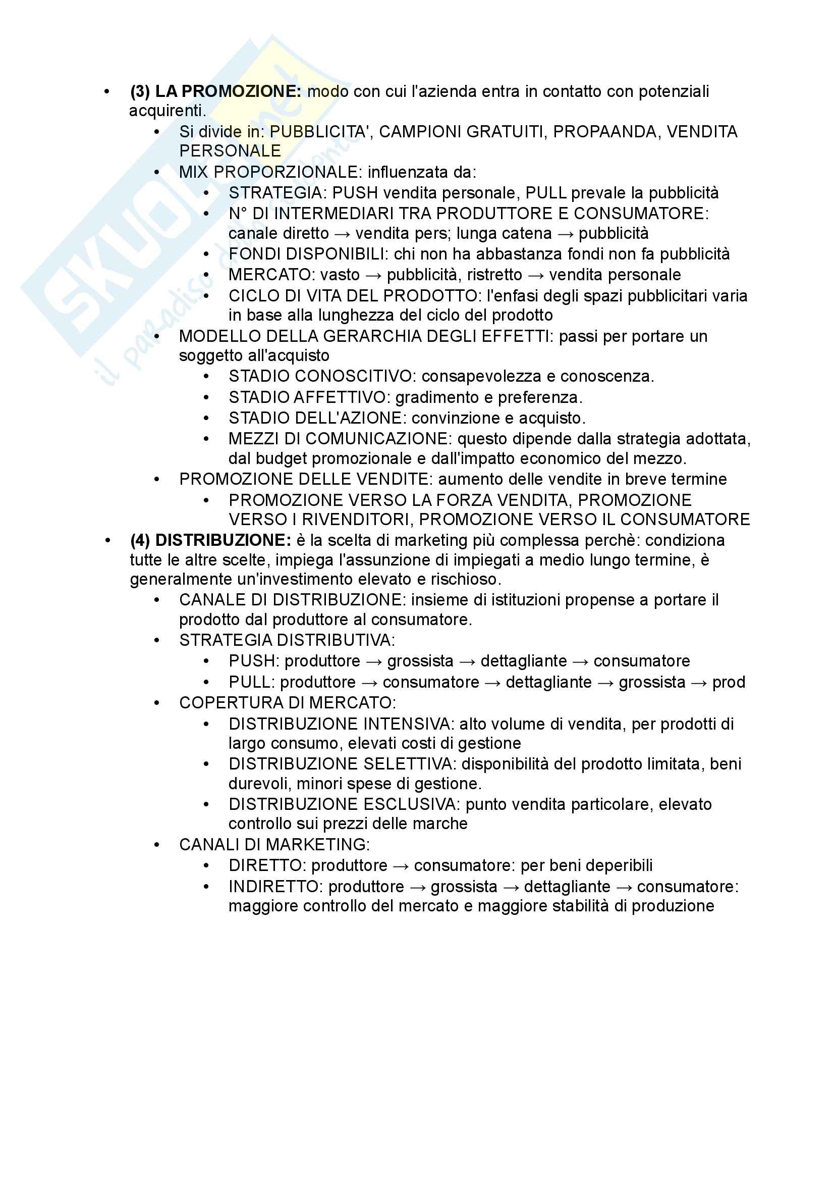 Lezioni, Gestione aziendale Pag. 6
