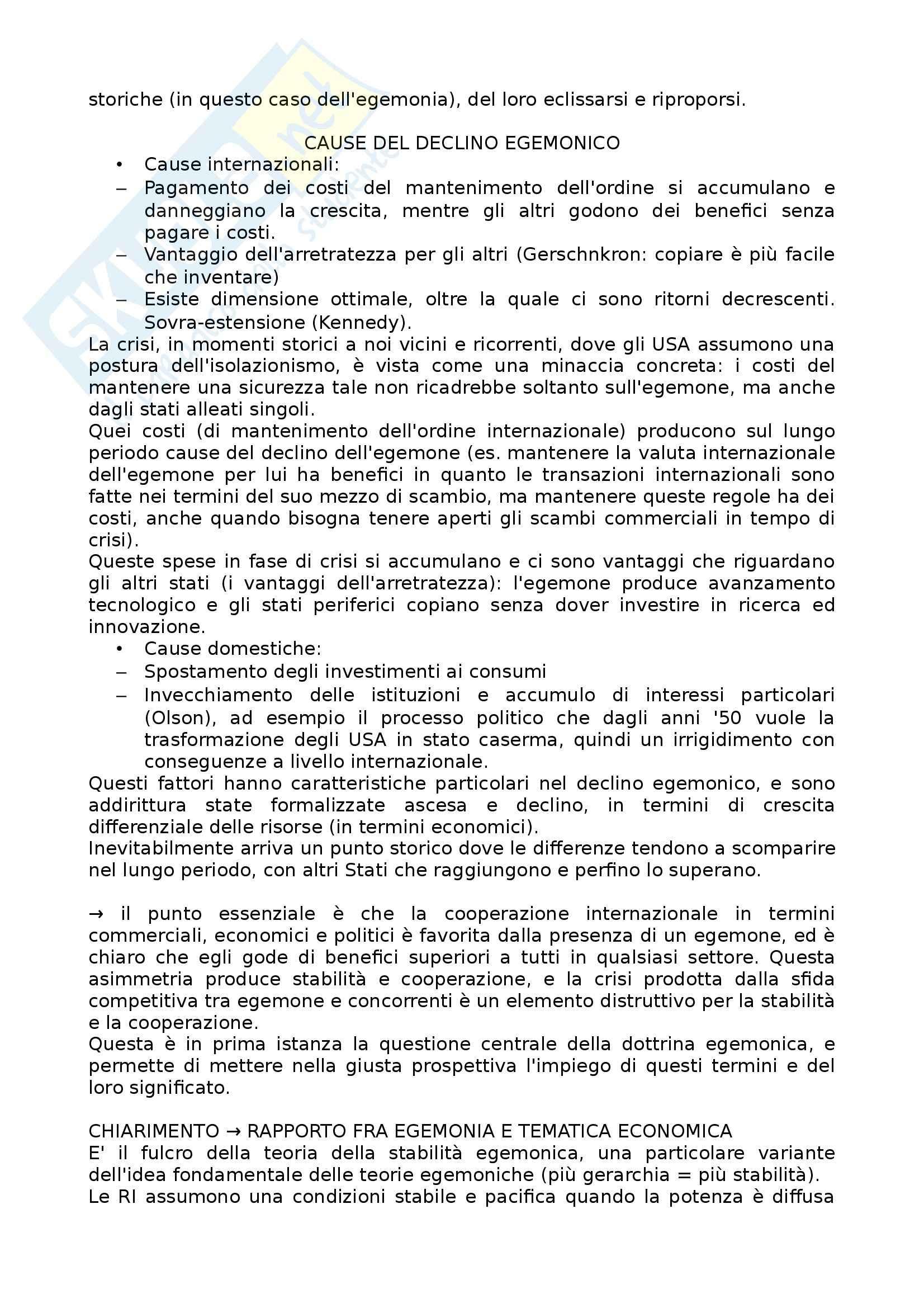 Lezioni, Relazioni internazionali Pag. 41