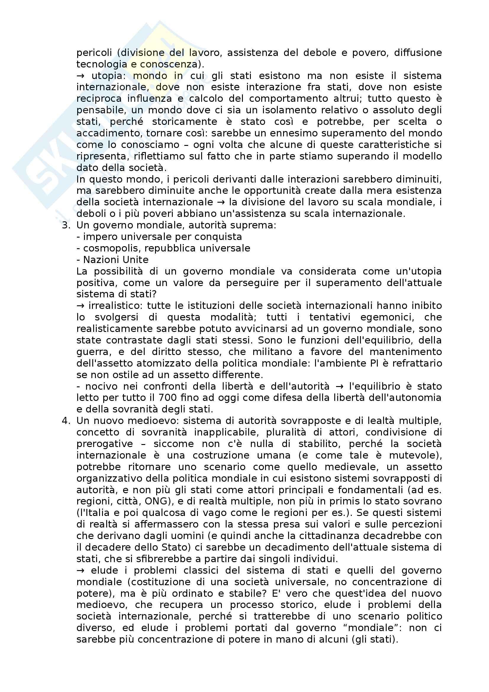 Lezioni, Relazioni internazionali Pag. 81