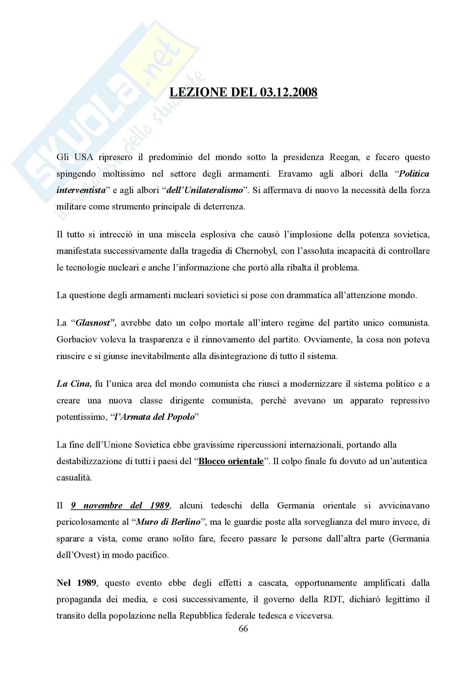 Storia delle relazioni internazionali Pag. 66