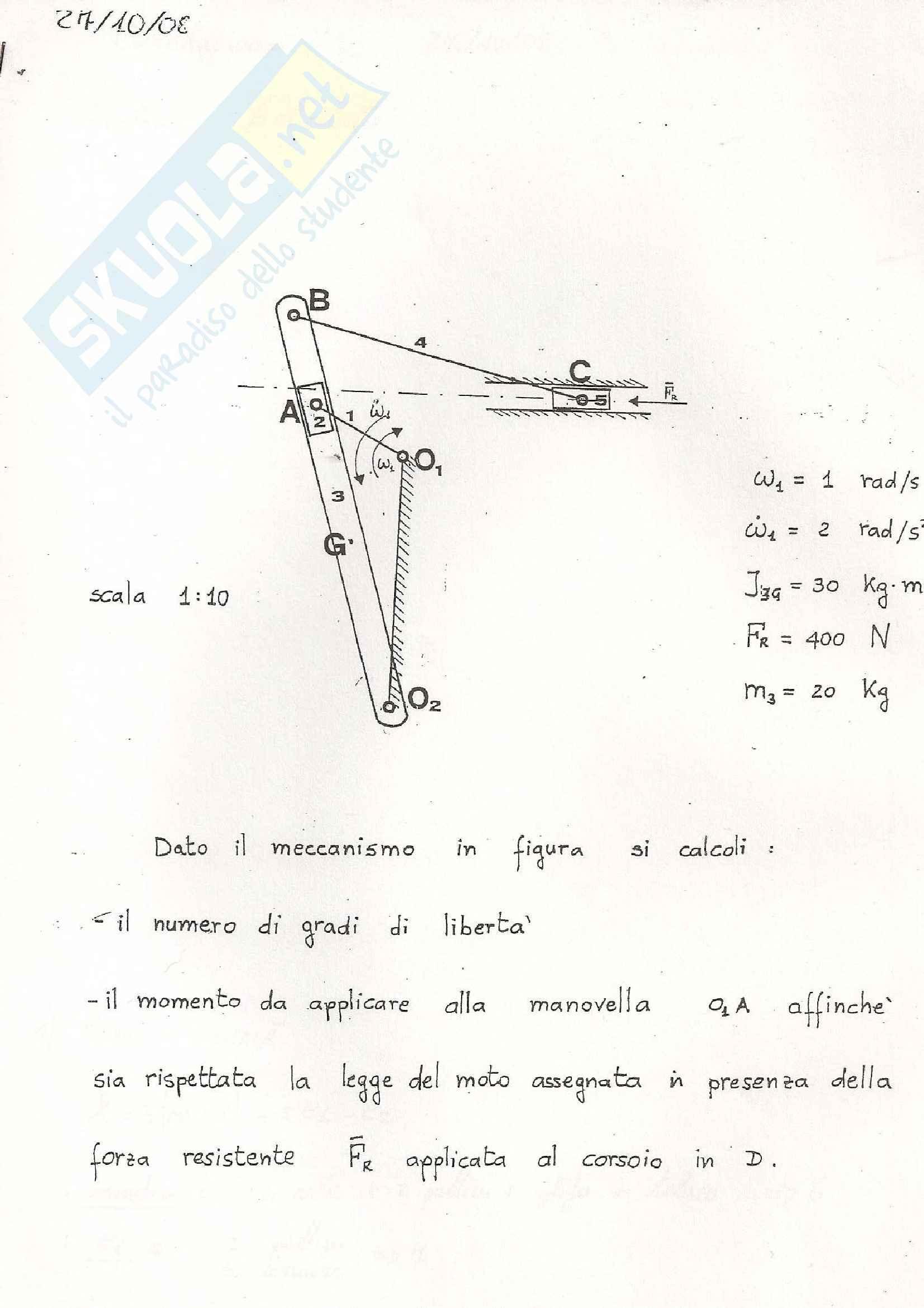 appunto M. Lacagnina Meccanica applicata alle macchine