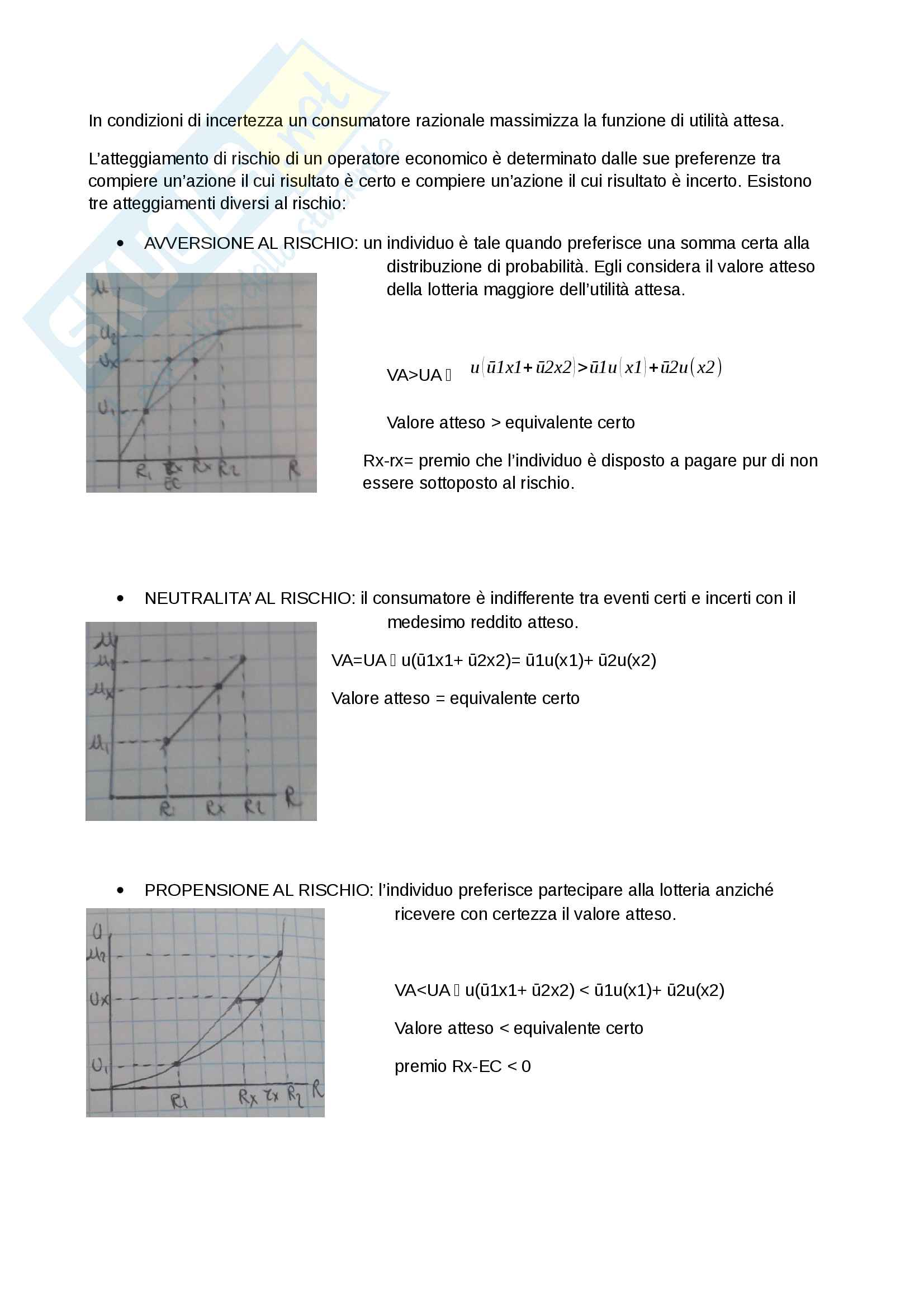 Economia politica - Domande svolte d'esame Pag. 6