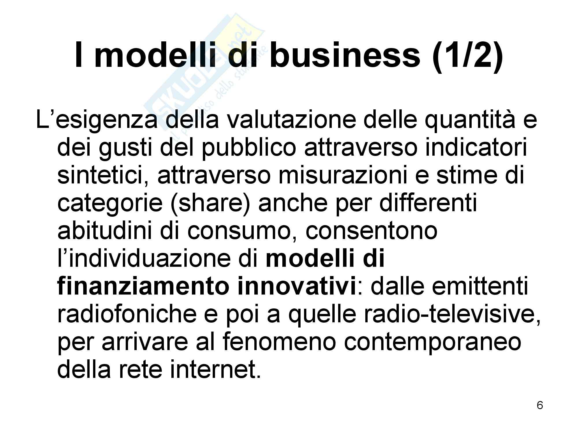 L'audience nell'economia Pag. 6