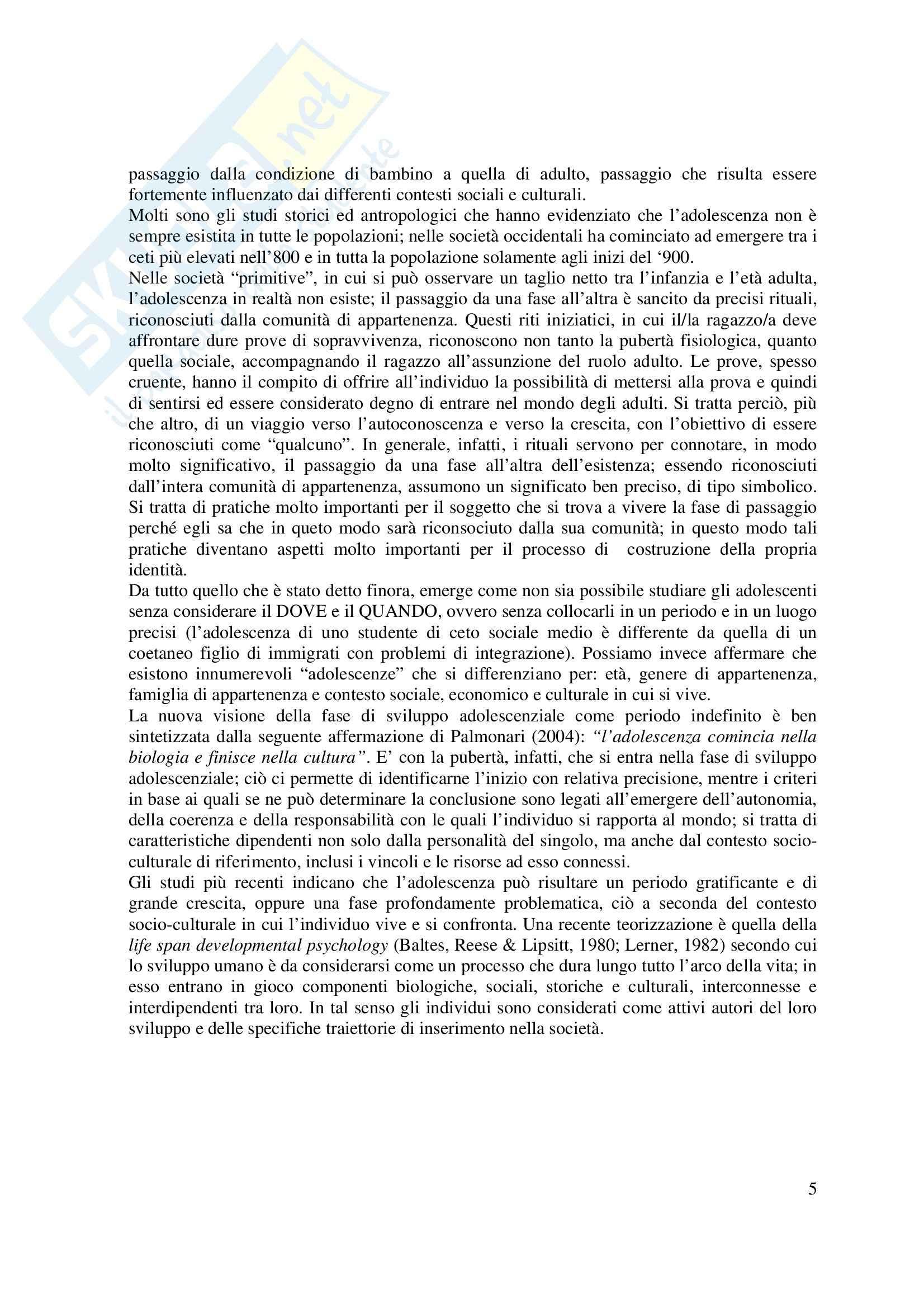 Psicologia dello sviluppo Pag. 6