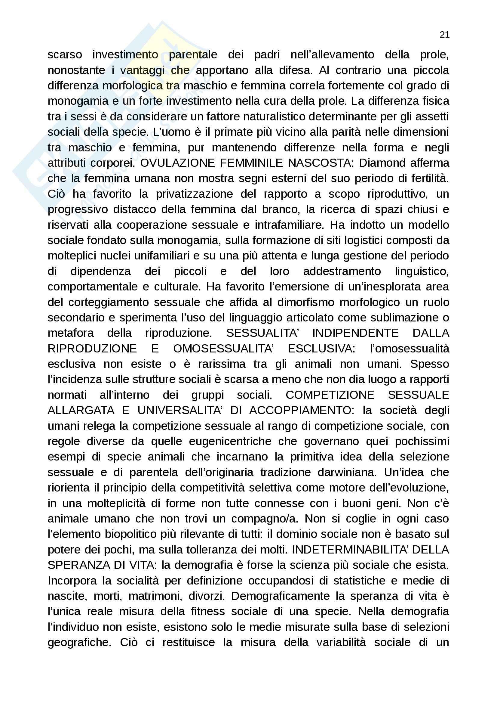 Riassunto esame Filosofia del linguaggio, prof. Pennisi, libro consigliato L'errore di Platone Pag. 21