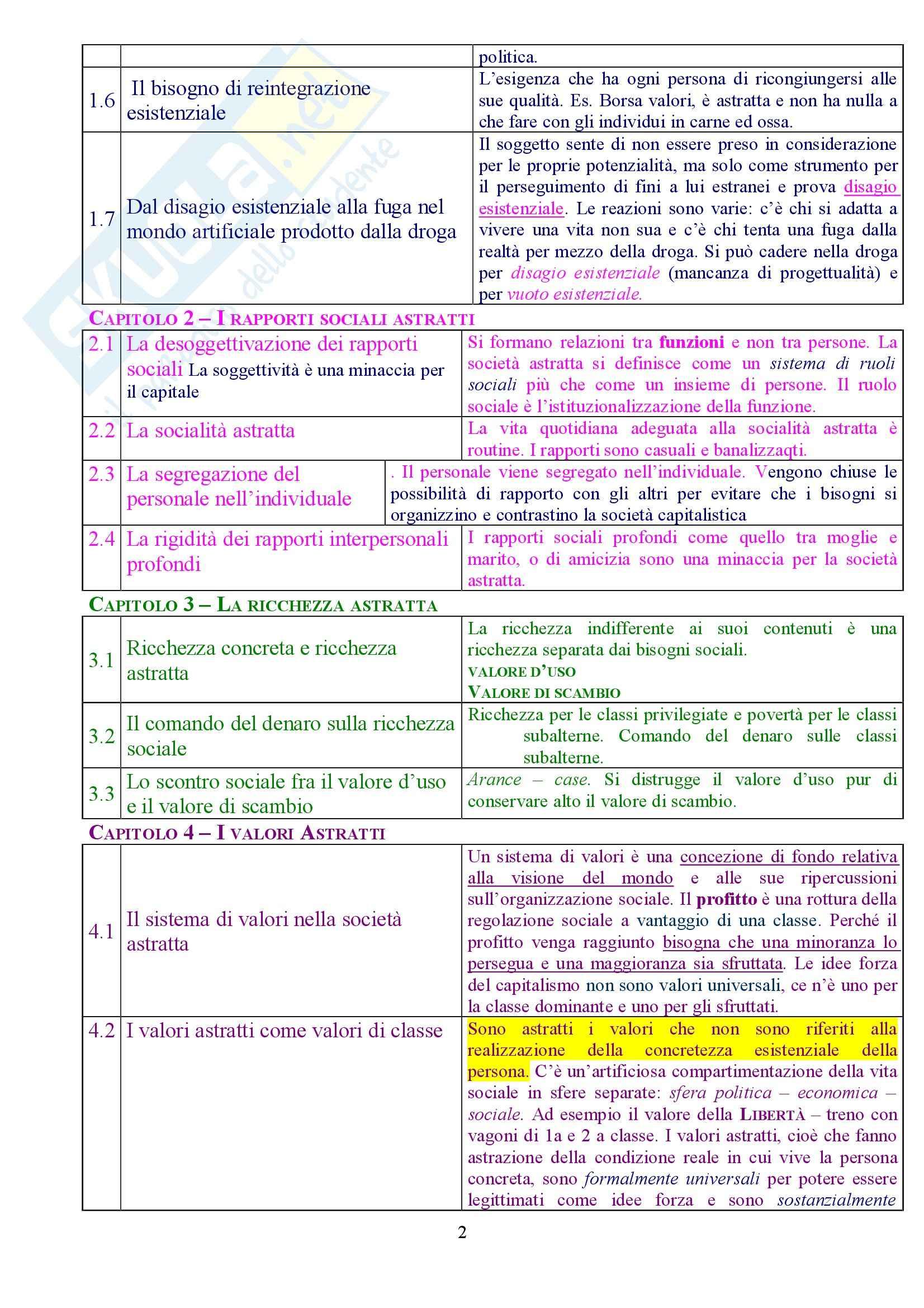 Sociologia - la società astratta Pag. 2