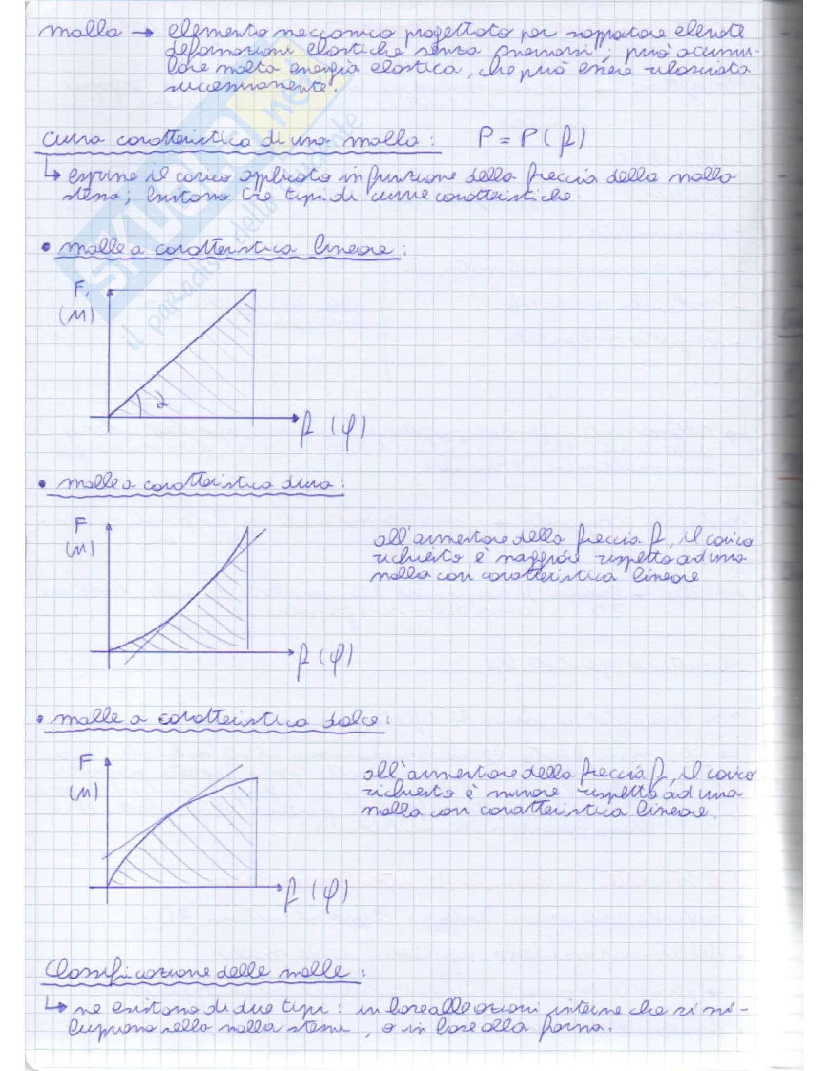 Costruzione di macchine 2 - Appunti Pag. 2