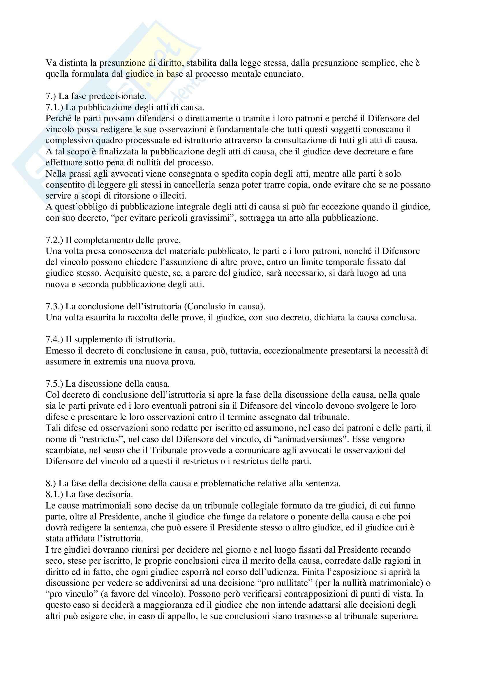 Riassunto esame Diritto Canonico, prof. Stefanì, libro consigliato Manuale di Diritto Canonico, Tedeschi, Musselli Pag. 16