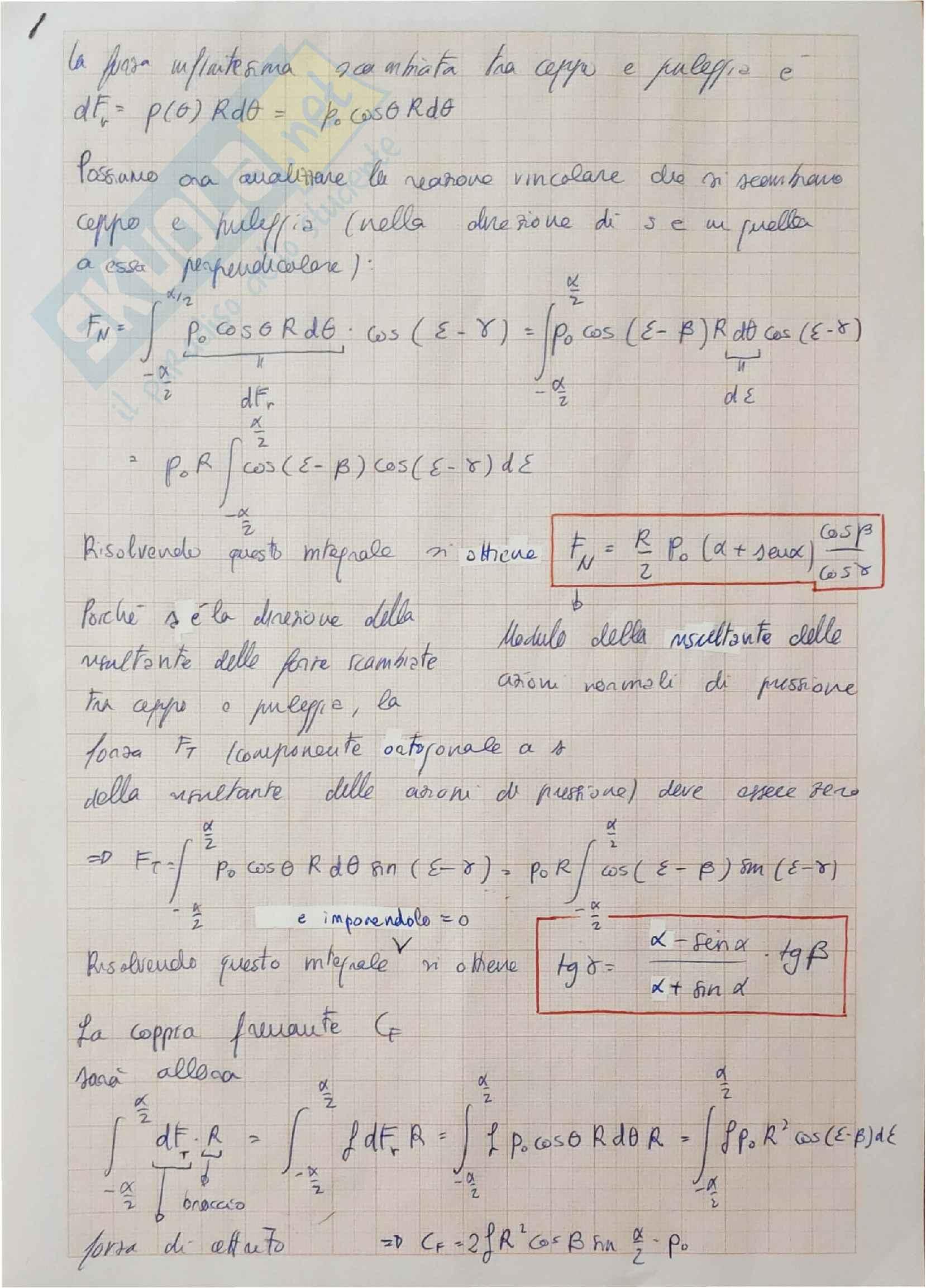 Tutte le 6 tavole di laboratorio di meccanica applicata alle macchine Pag. 16