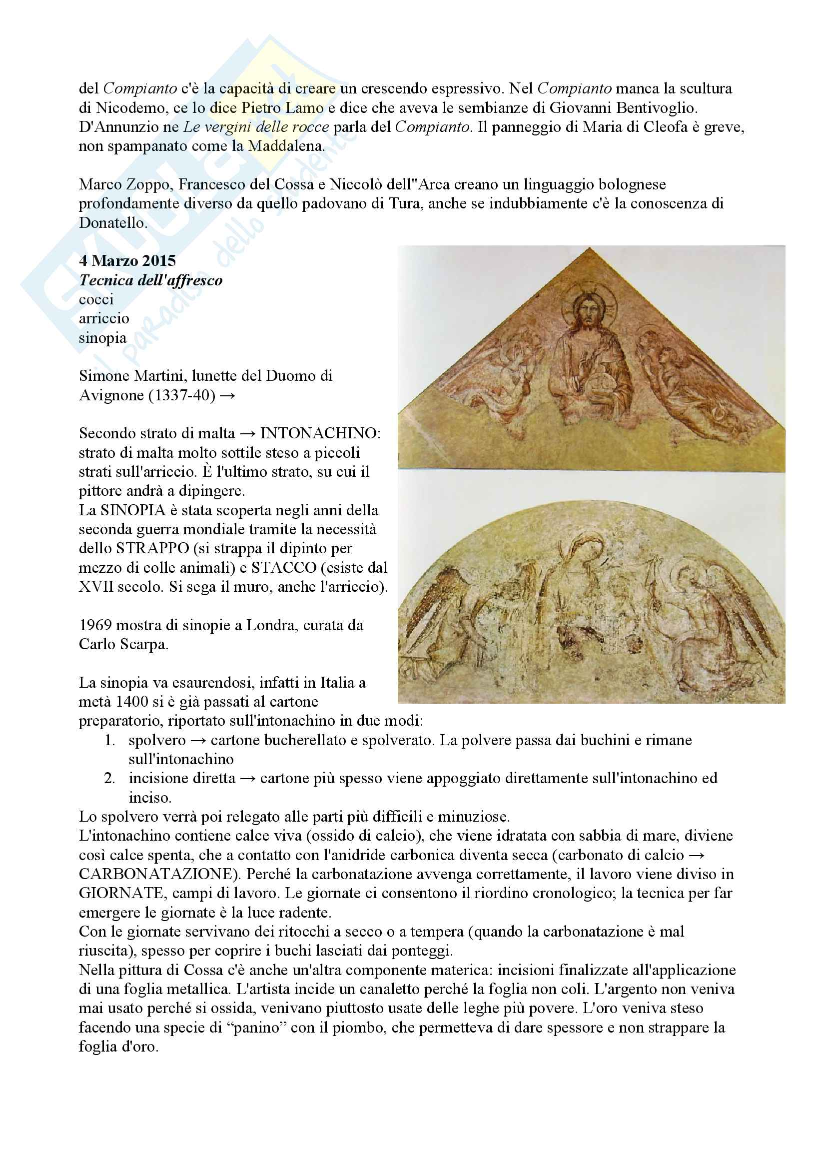 Appunti esame Arte del rinascimento Pag. 6