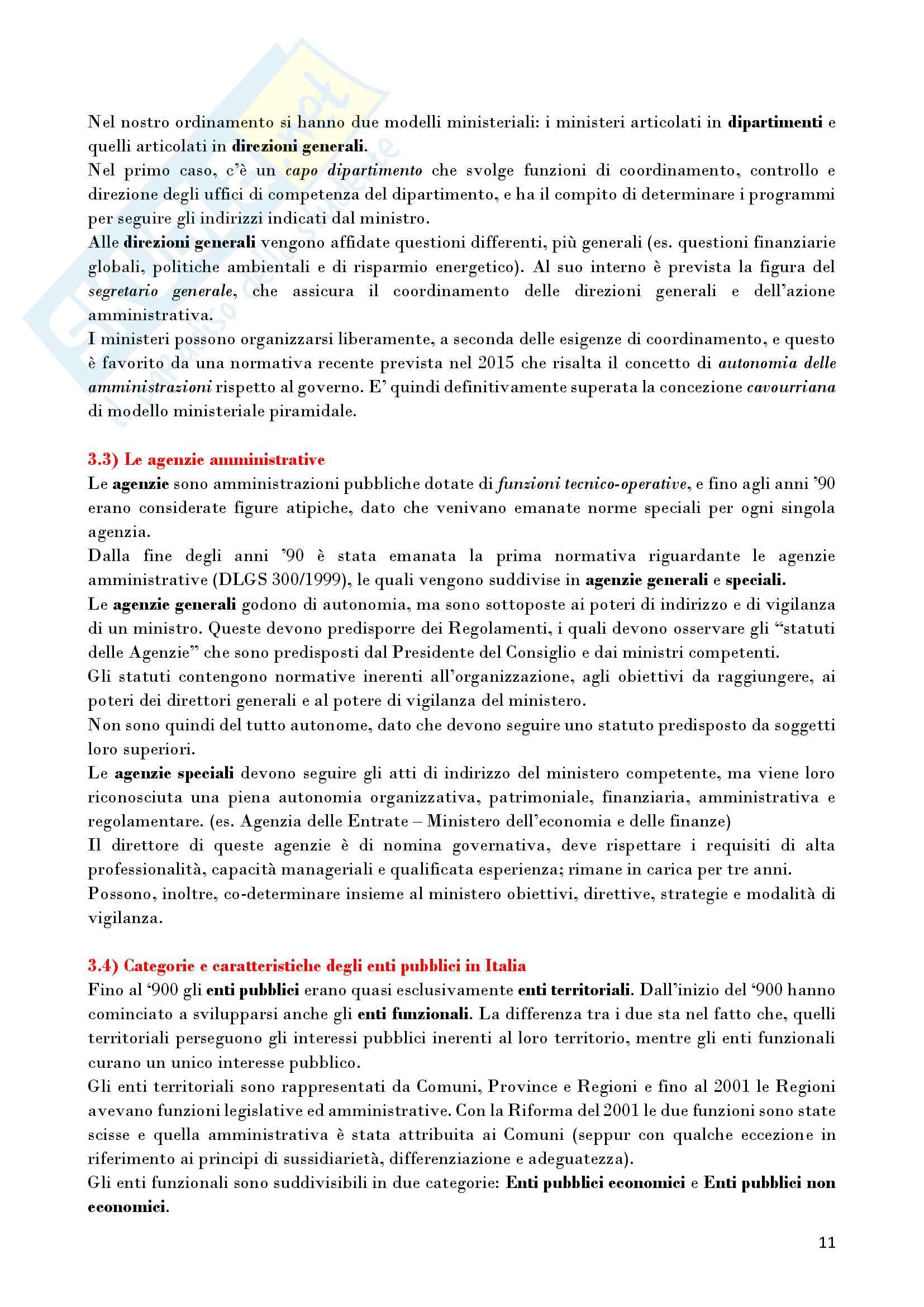 Riassunto esame Diritto Amministrativo, prof. D'Alberti, libro consigliato Lezioni di Diritto Amministrativo, D'Alberti Pag. 11