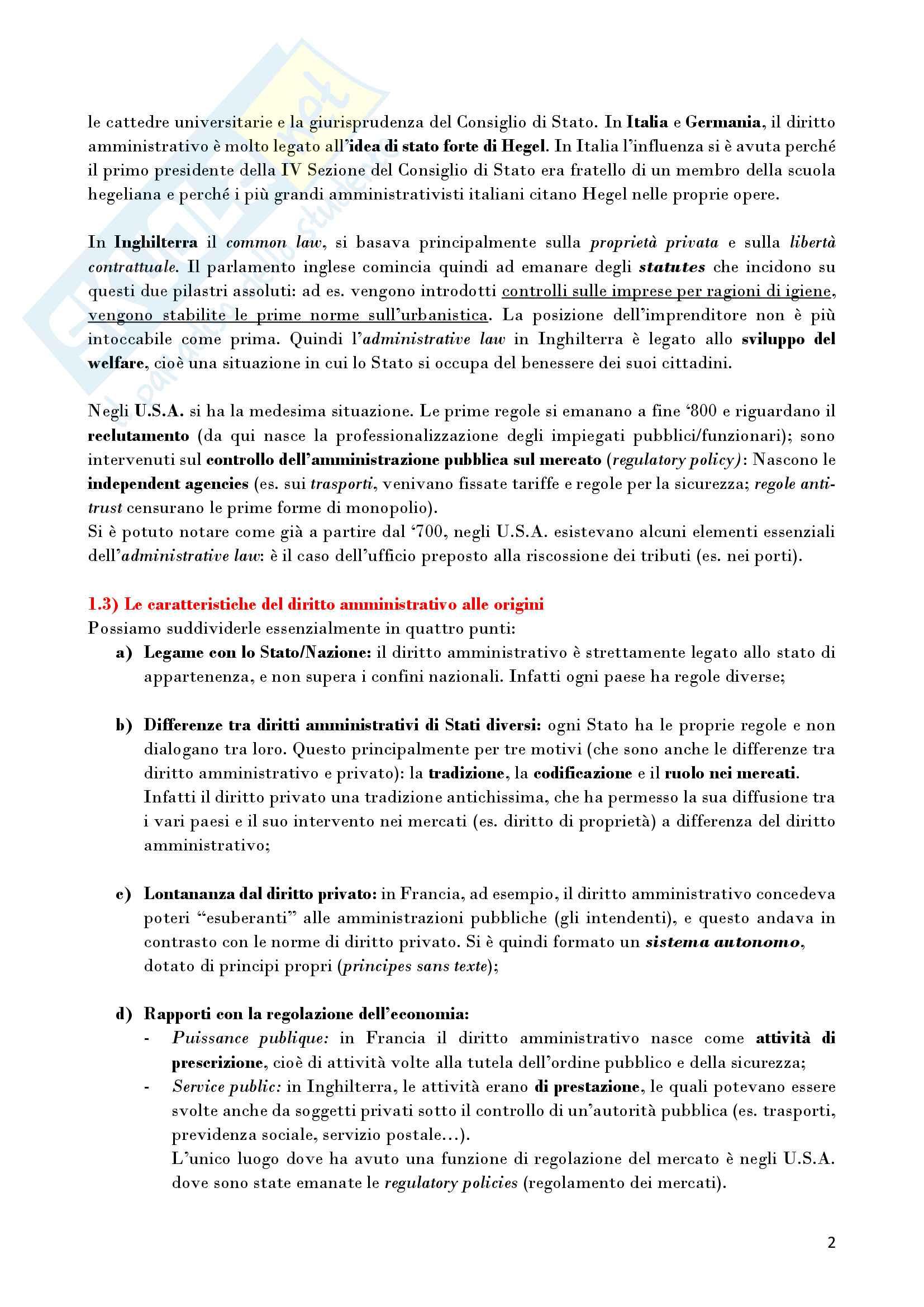 Riassunto esame Diritto Amministrativo, prof. D'Alberti, libro consigliato Lezioni di Diritto Amministrativo, D'Alberti Pag. 2