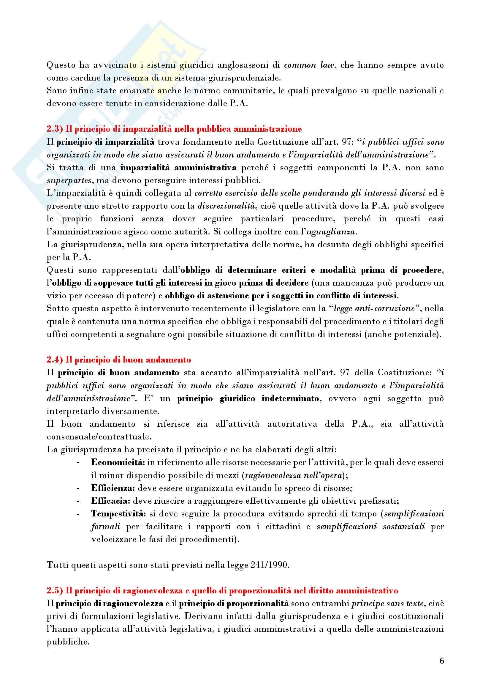 Riassunto esame Diritto Amministrativo, prof. D'Alberti, libro consigliato Lezioni di Diritto Amministrativo, D'Alberti Pag. 6