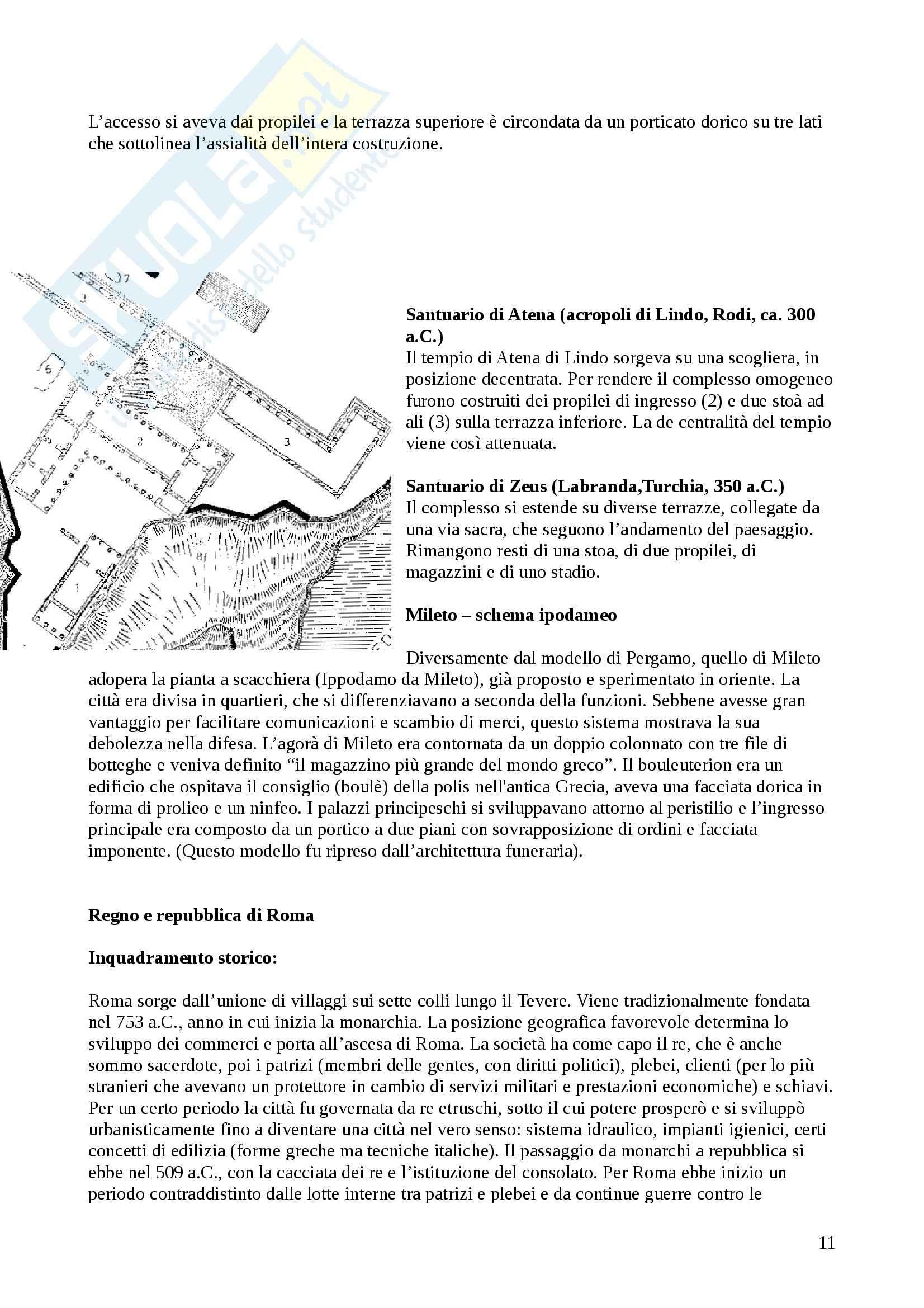 Appunti Storia dell'Architettura 1 (800 aC-1500) Pag. 11