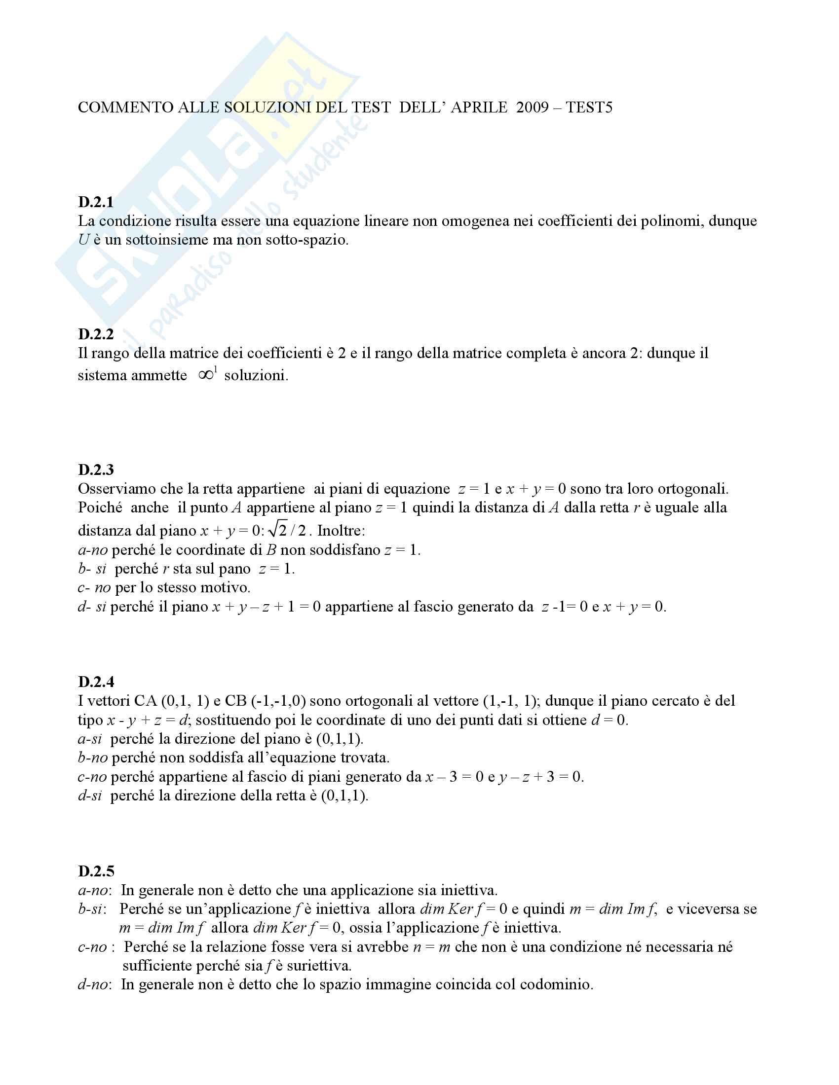 Analisi Matematica 2 e Complementi di Algebra Lineare - Temi d'Esame svolti Pag. 11