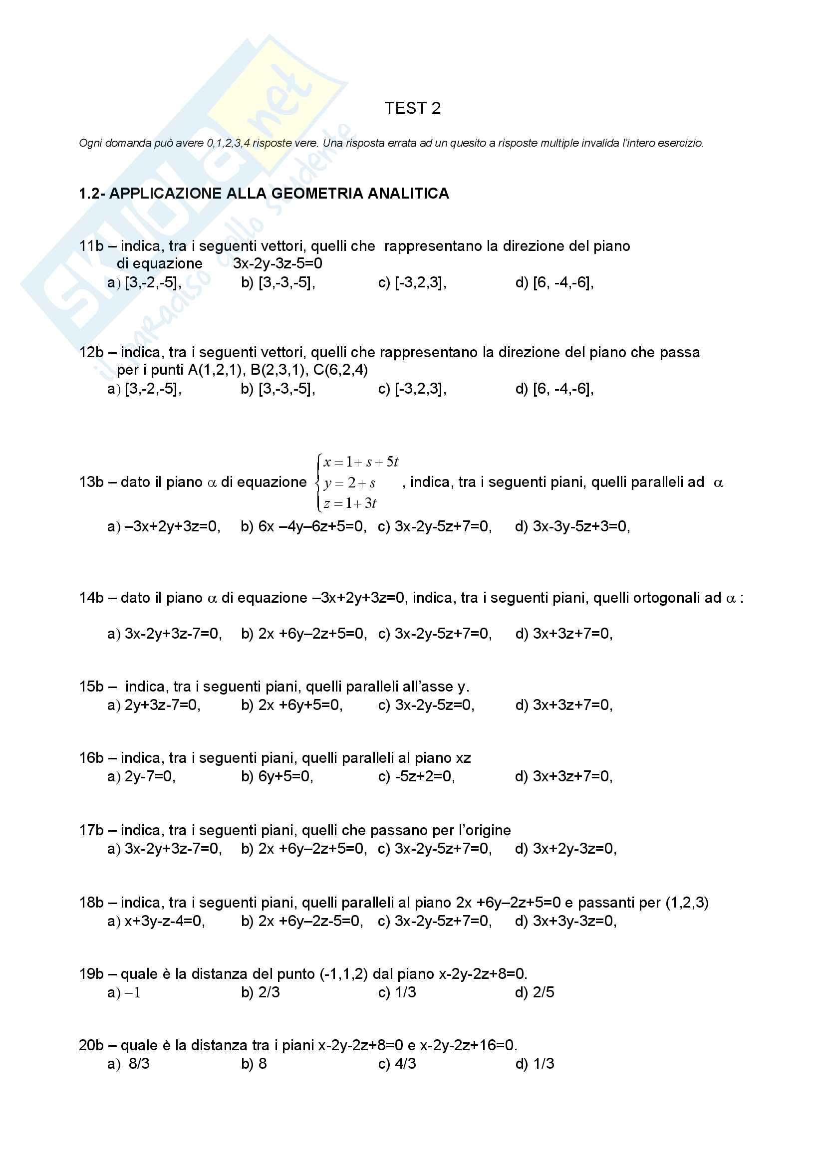 Analisi Matematica 2 e Complementi di Algebra Lineare - Temi d'Esame svolti Pag. 2