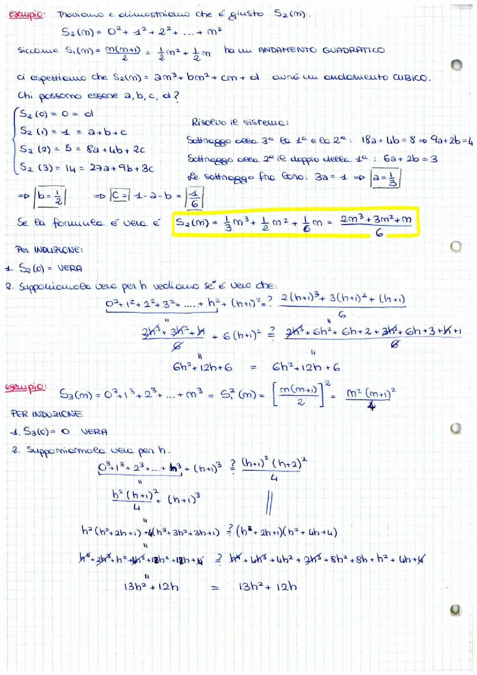 Analisi matematica 1 - Appunti a mano Pag. 6