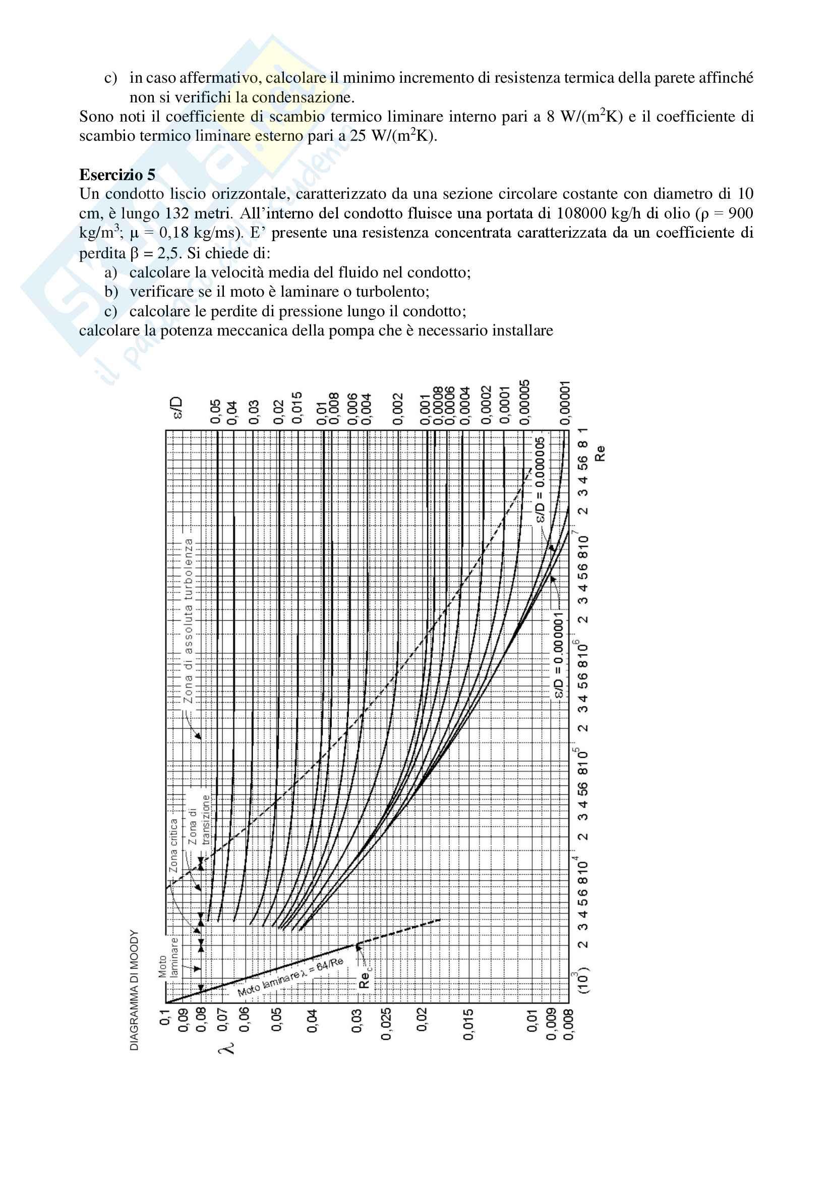 Fisica tecnica- Esercizi di ripasso Pag. 2