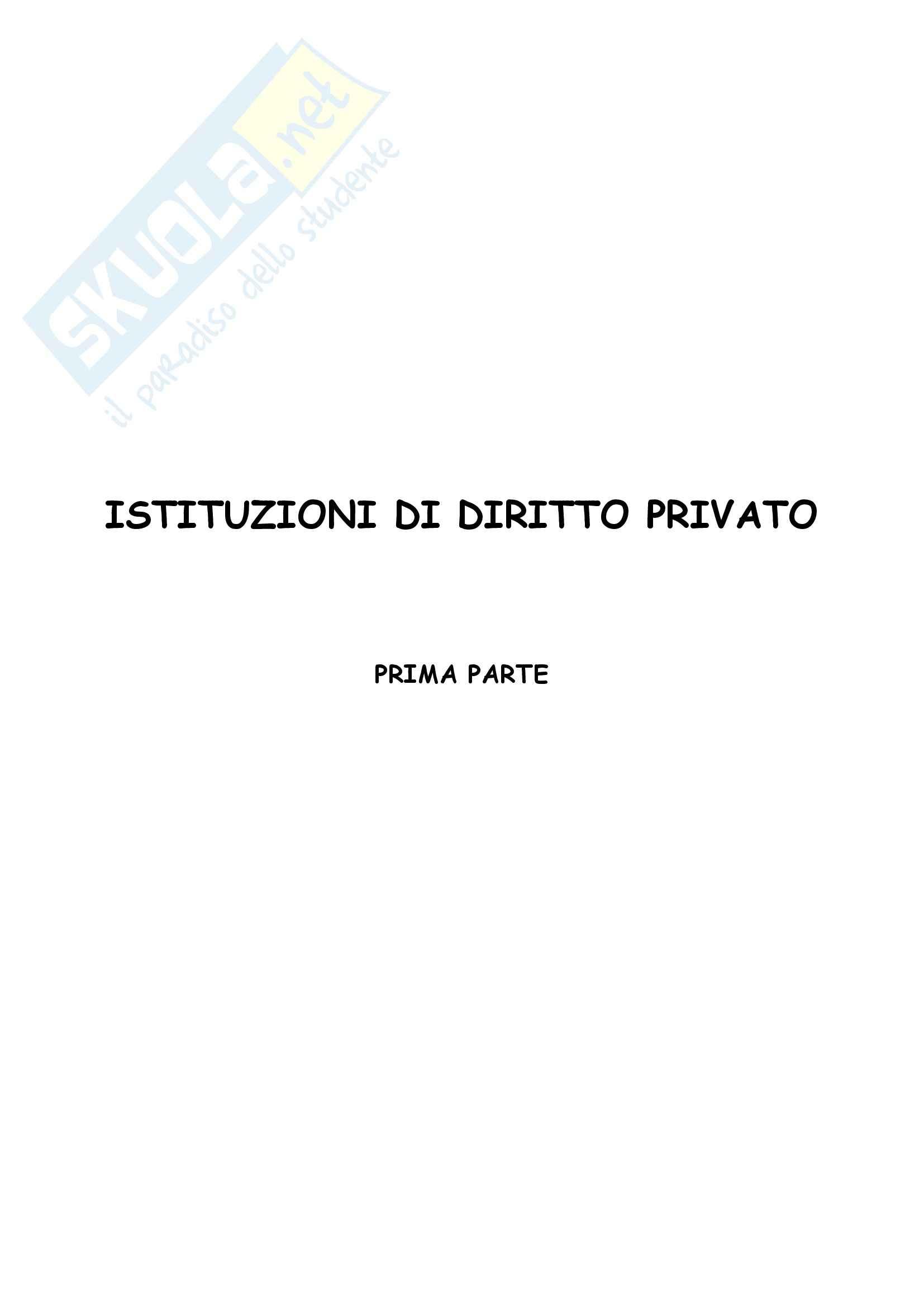 appunto G. Iudica Diritto privato