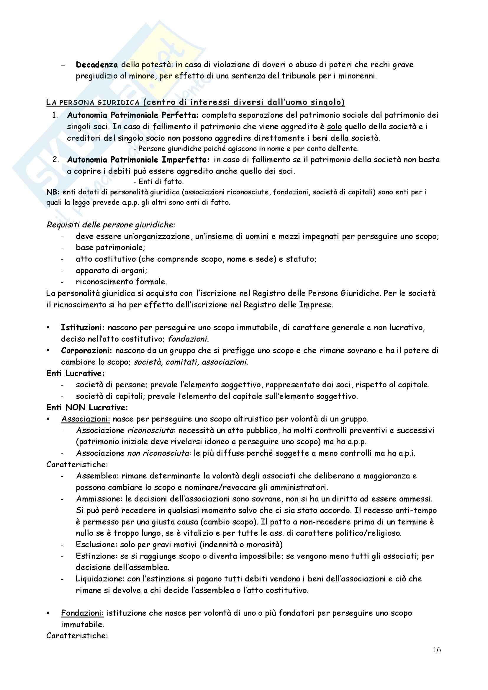 Riassunto esame Diritto privato, prof. Iudica, libro consigliato Linguaggi di diritto privato, Zatti Pag. 16
