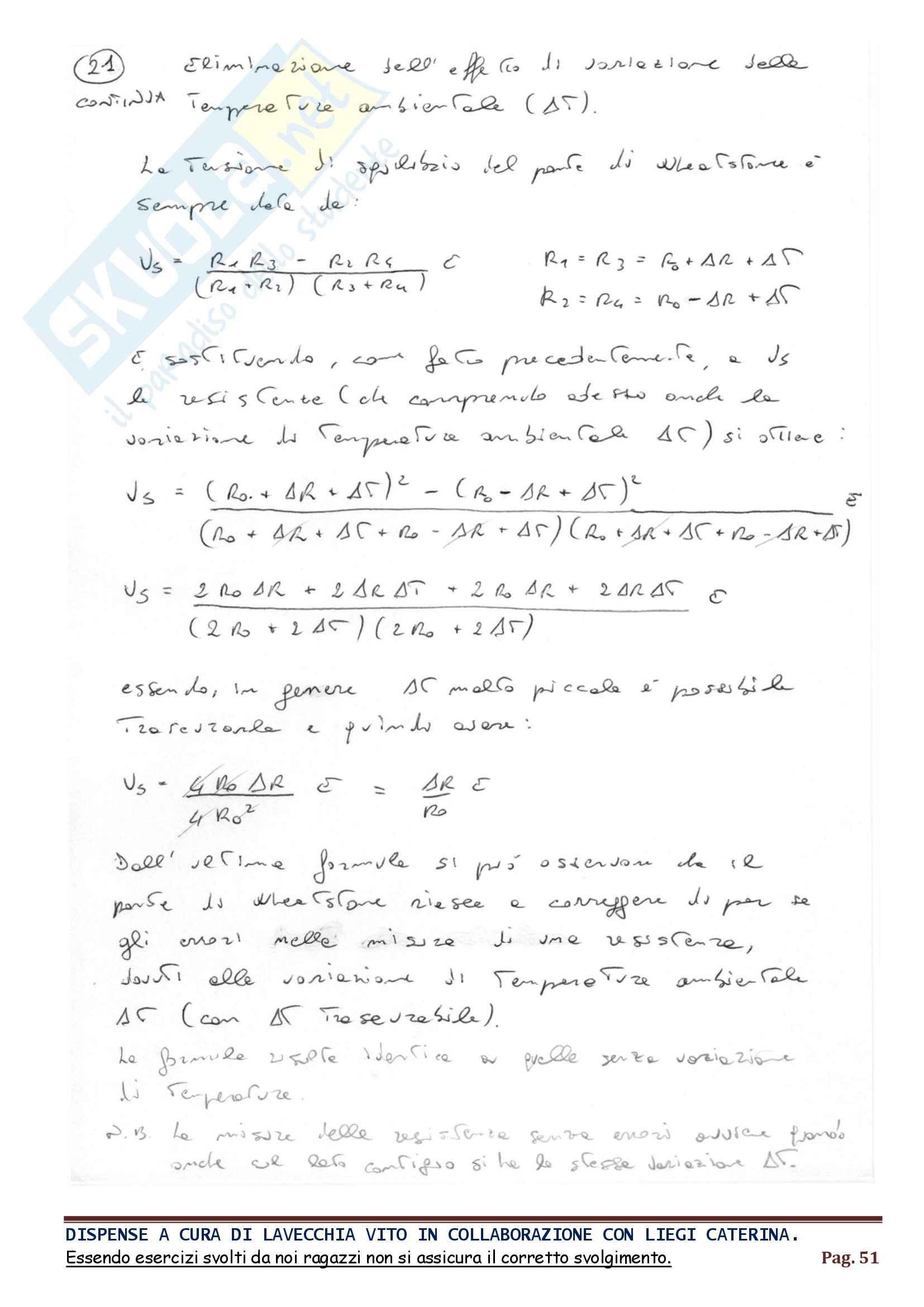 Parte 2, Fondamenti della misurazione Pag. 51