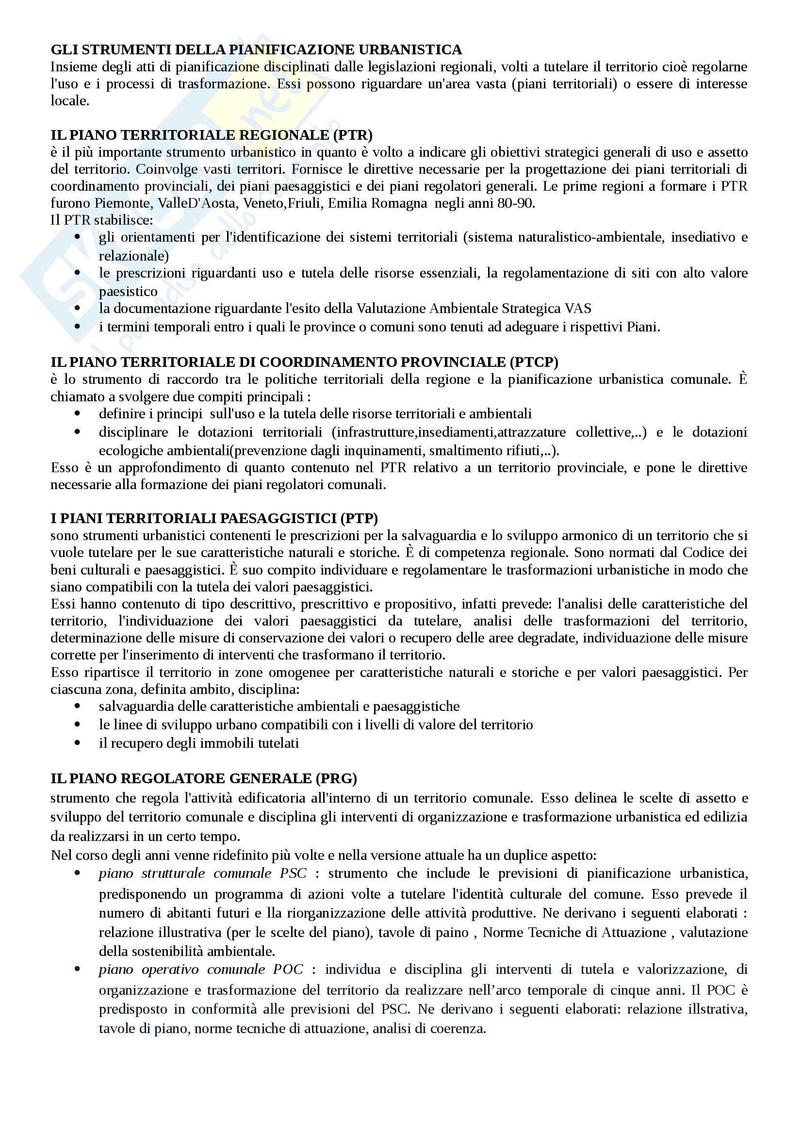 appunto G. Cotella Urbanistica
