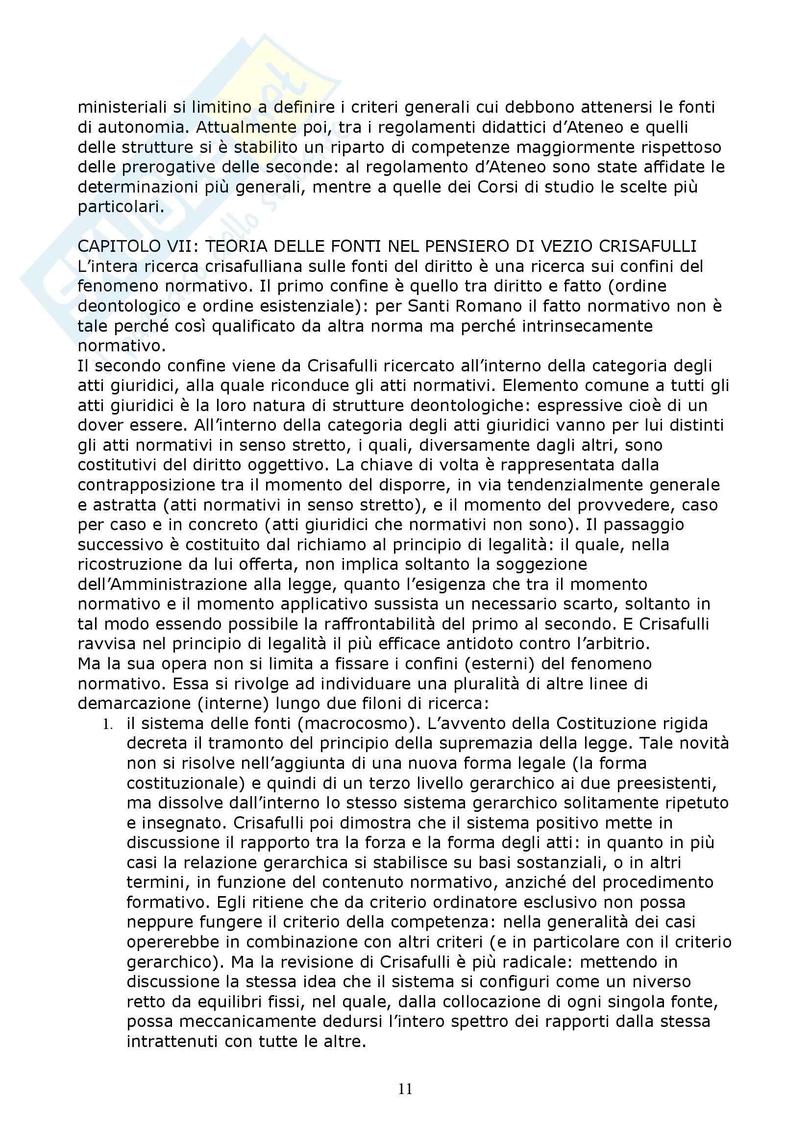 Diritto costituzionale - i principi e i  valori costituzionali Pag. 11