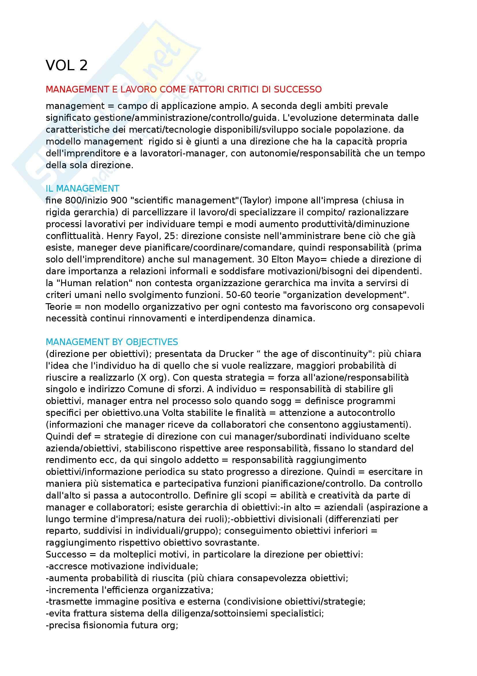 appunto E. Galliani Psicologia del lavoro e delle organizzazioni