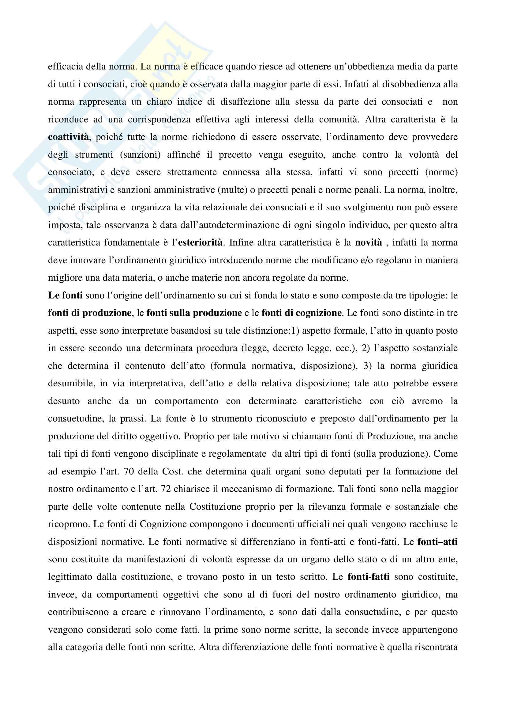 Riassunto esame Diritto pubblico, prof. Salerno, libro consigliato Diritto pubblico, Martines Pag. 11